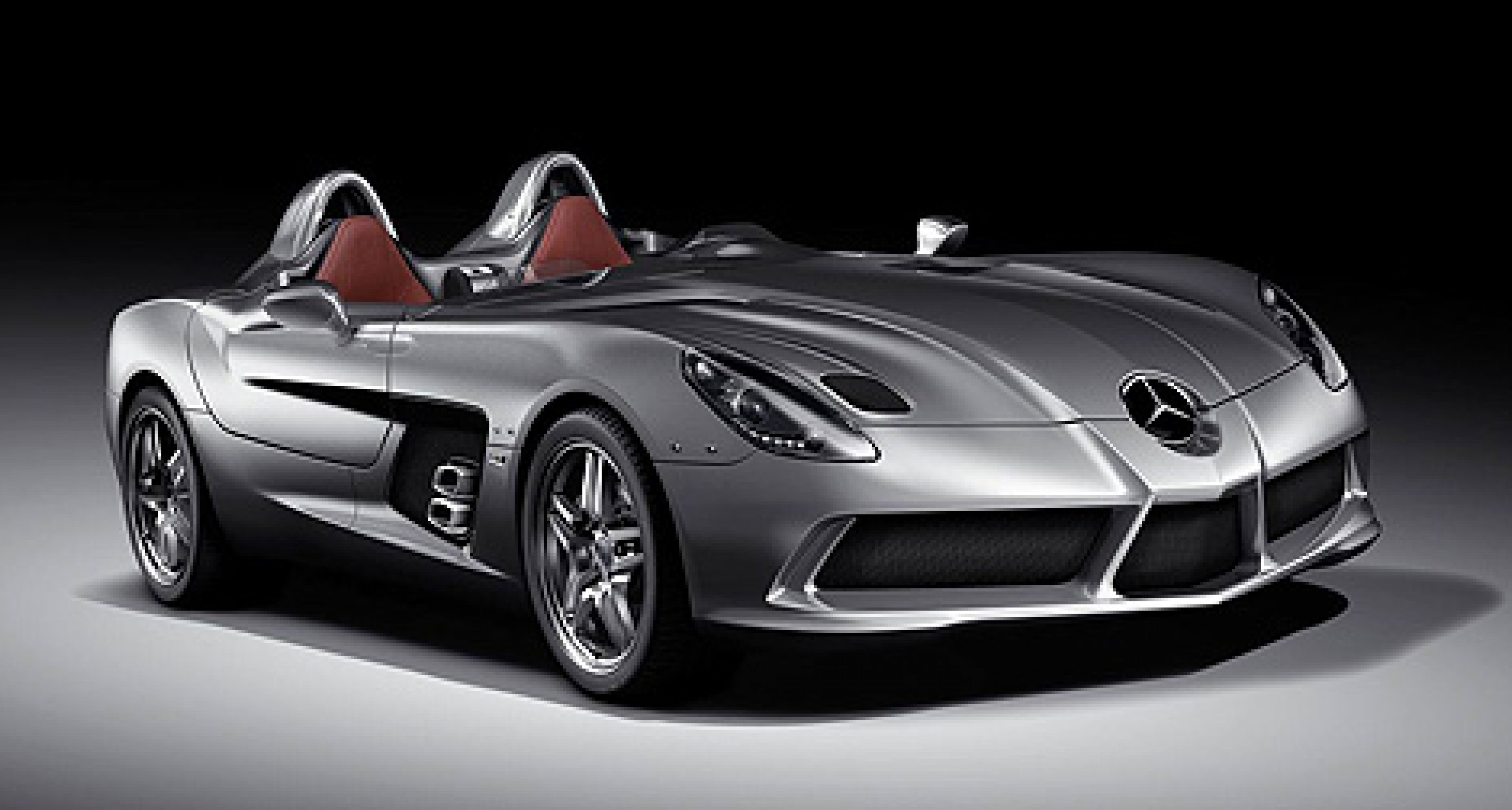 The Mercedes-Benz SLR Stirling Moss