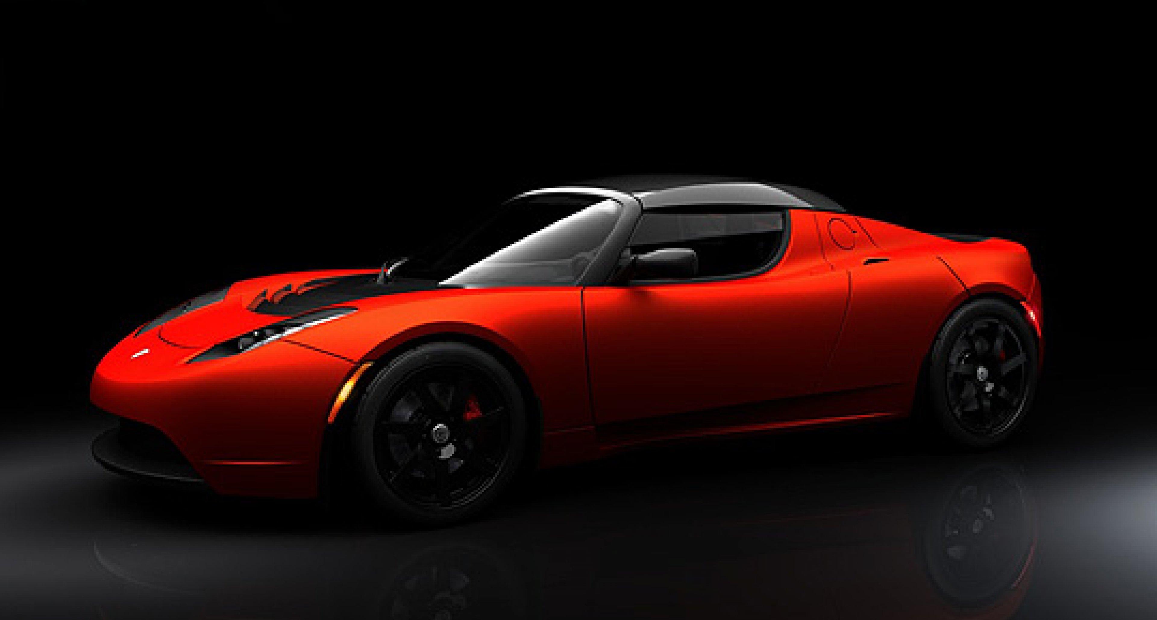 Tesla Roadster Sport: Nachgeladen