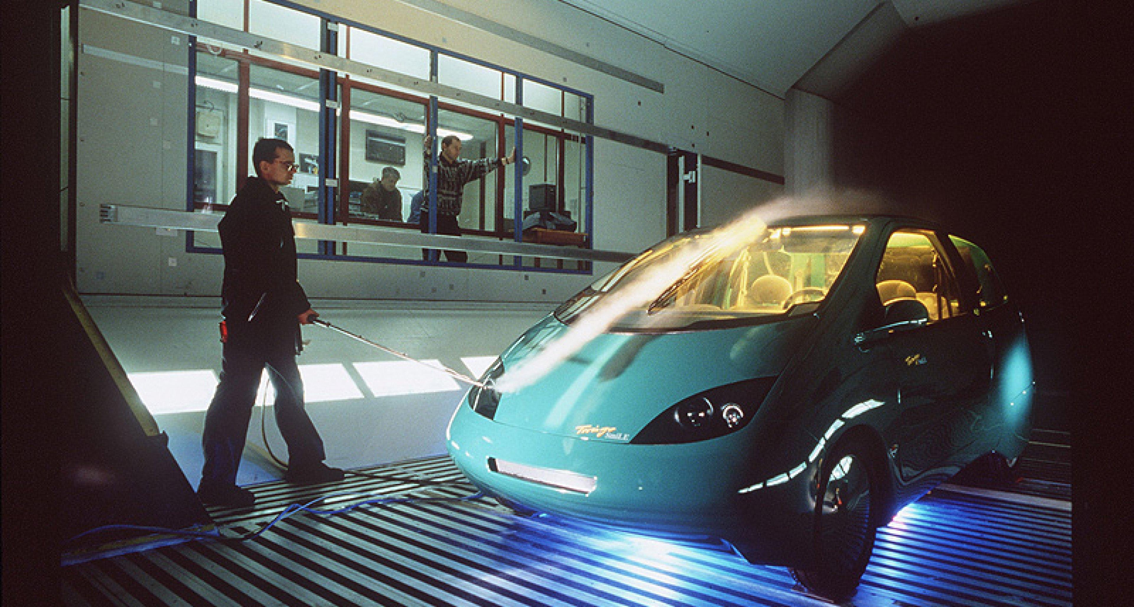 Prototyp Hamburg zeigt Stromlinien-Fahrzeuge
