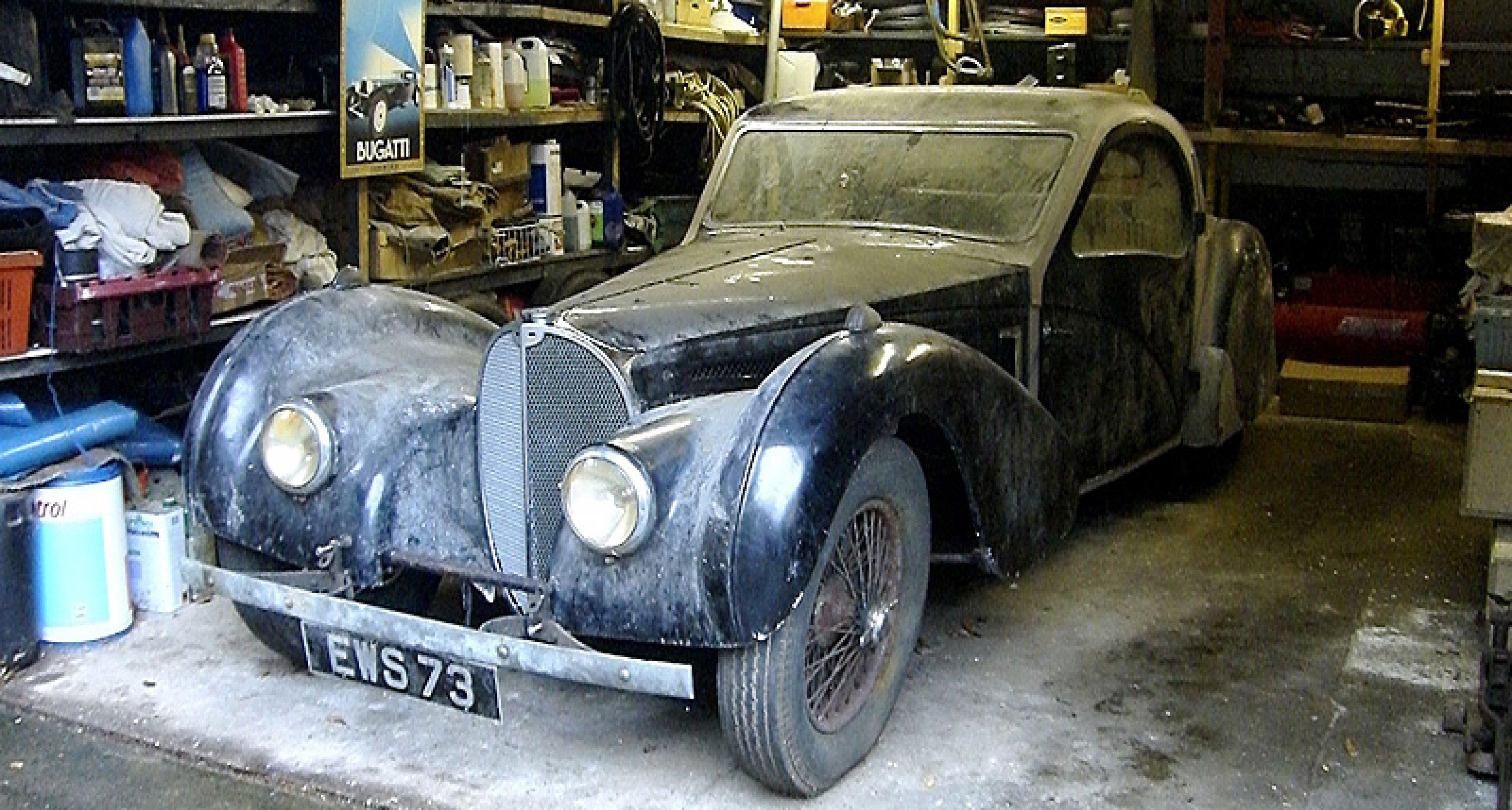 Bonhams Rétromobile 2009: Bugatti Surprise
