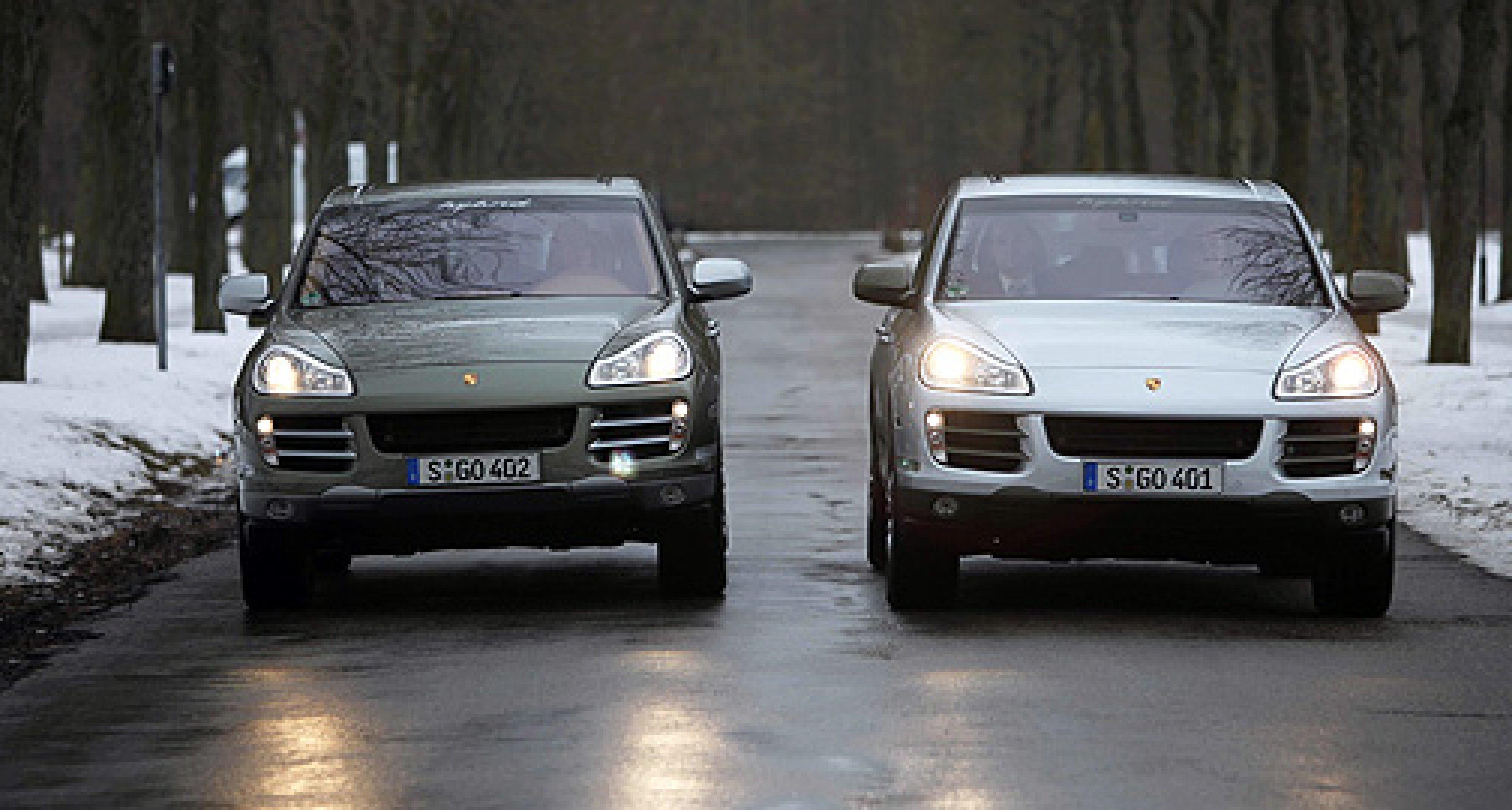 Porsche Cayenne S Hybrid und Cayenne Diesel