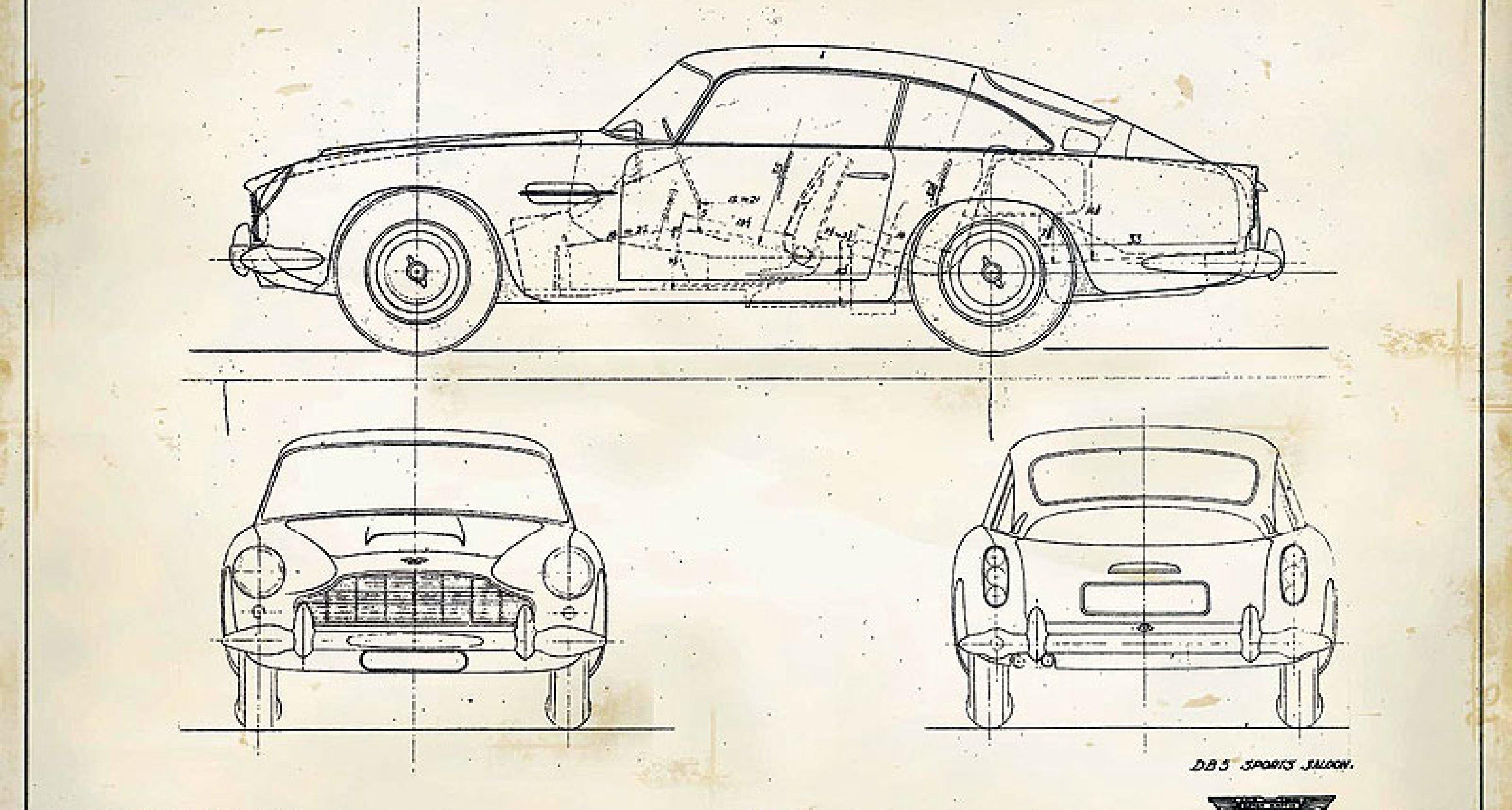 Aston Martin Heritage Art: Kunst aus dem Archiv
