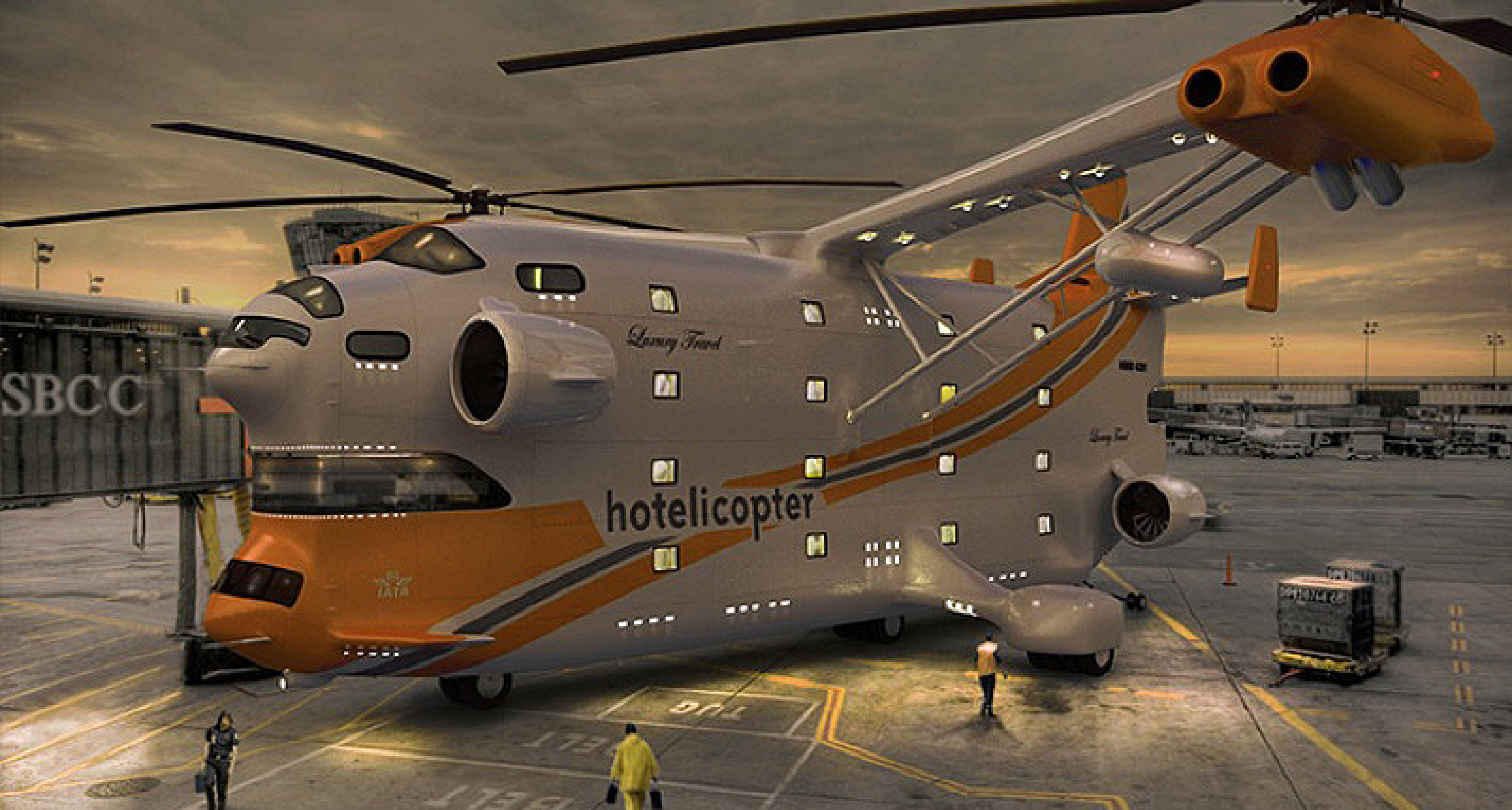 The Hotelicopter: Heavy Rotation
