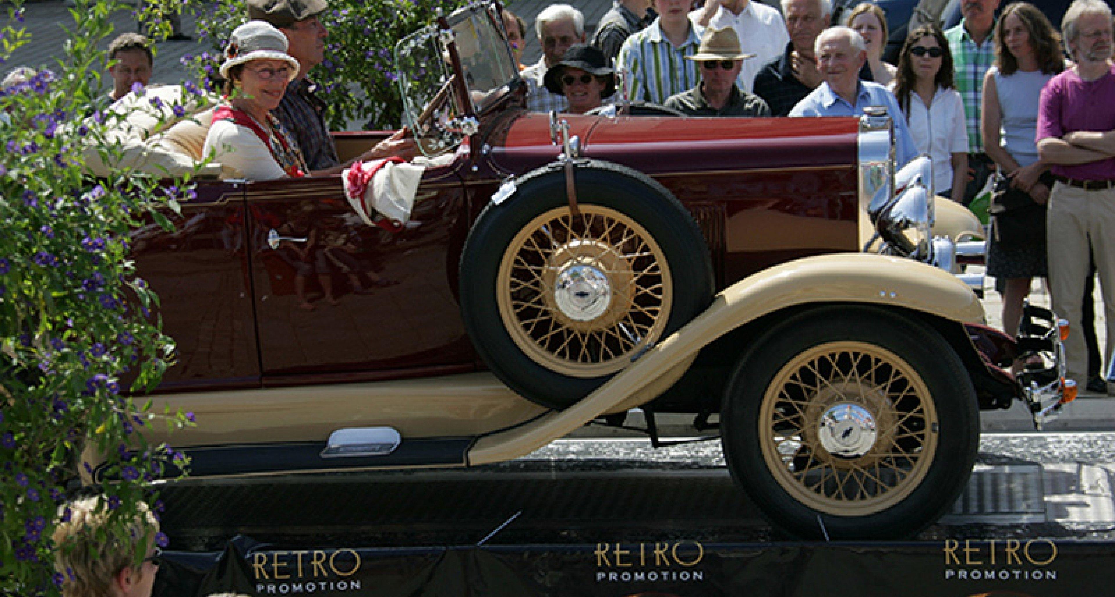 Retro Classics meets Barock 2009: Jetzt Teilnahme sichern!