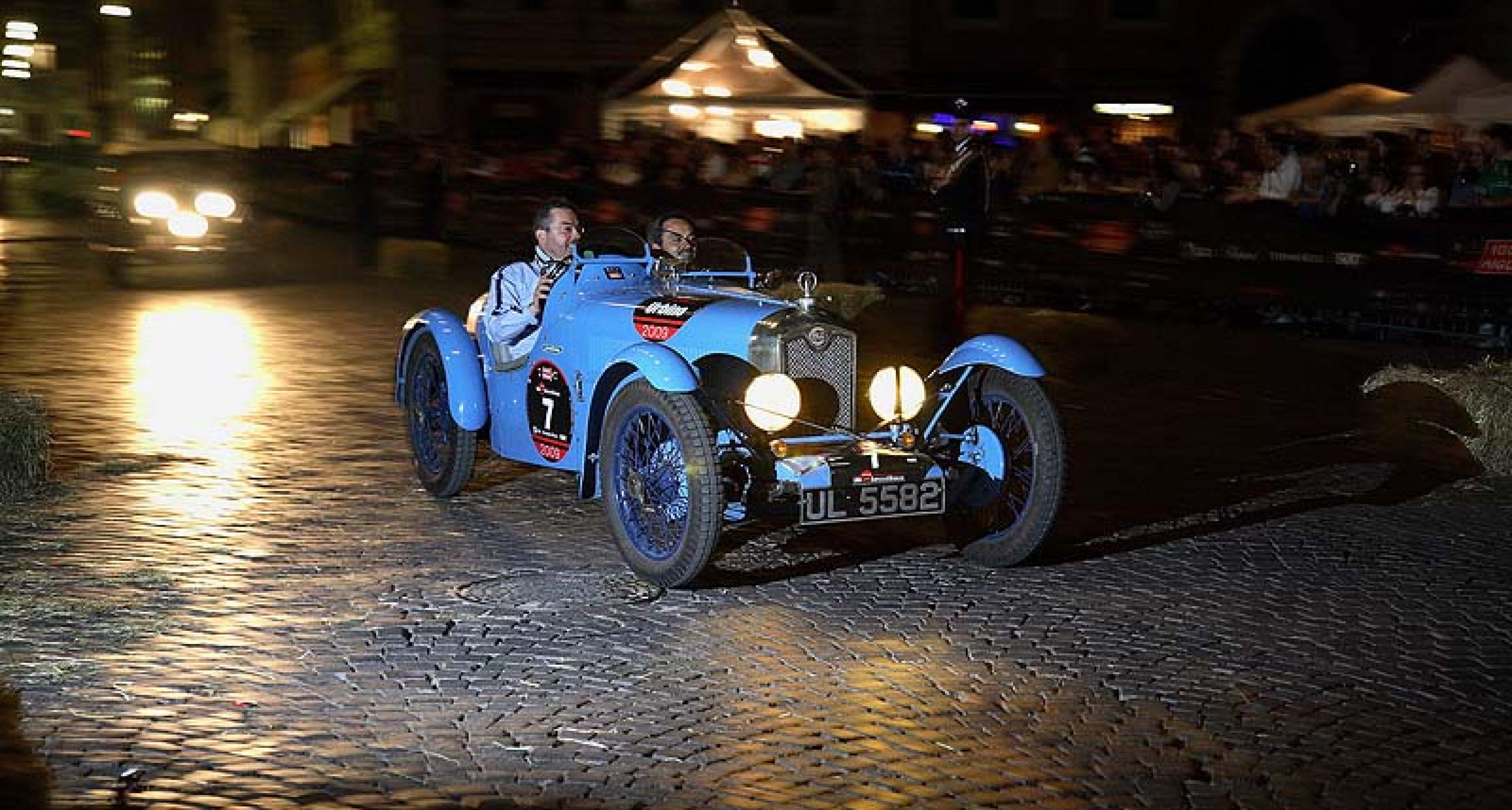Mille Miglia 2009: Sieg für Ferrari auf Bugatti