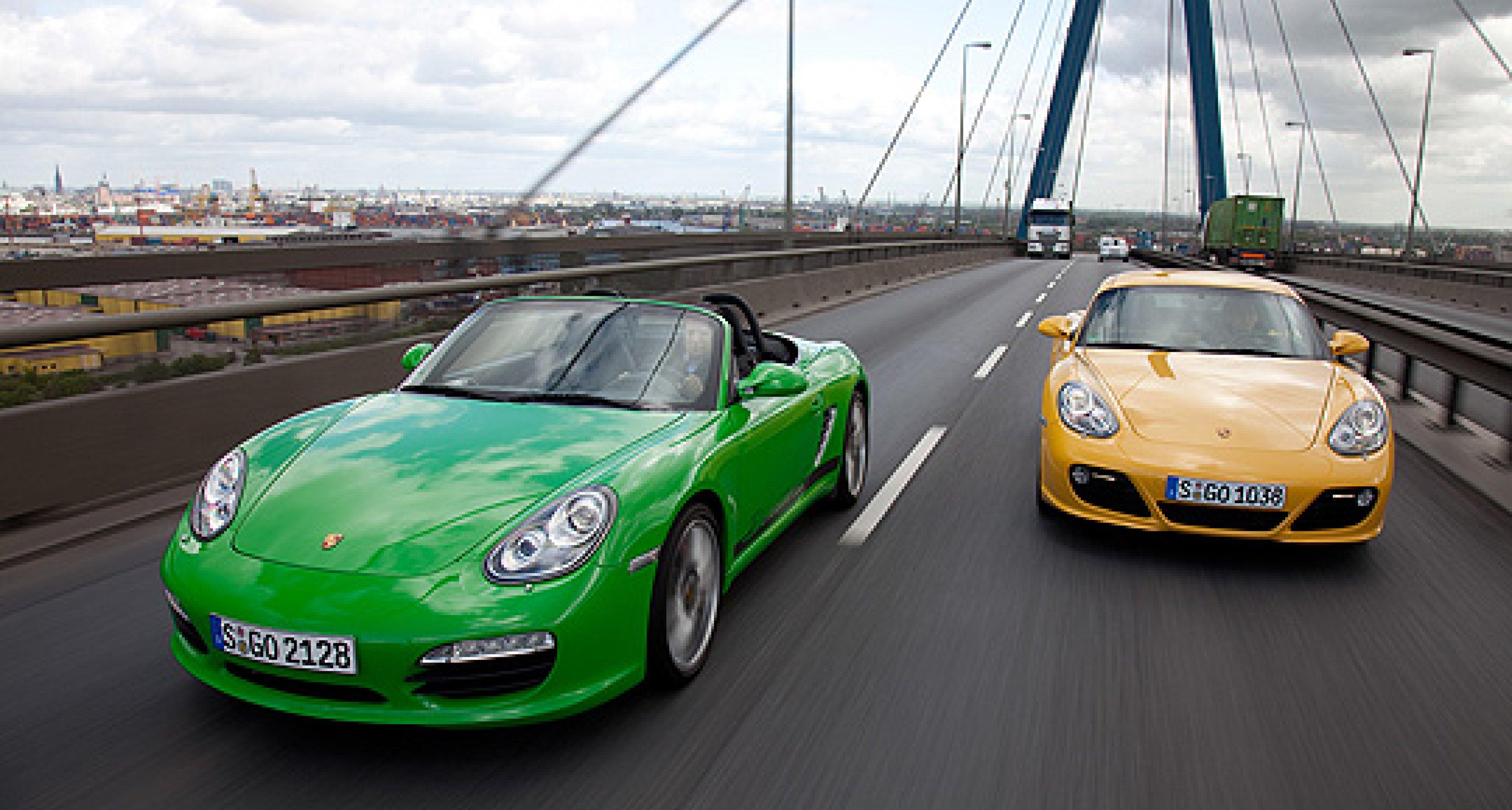 Porsche Boxster S & Cayman S:  Zweimal mit Scharf
