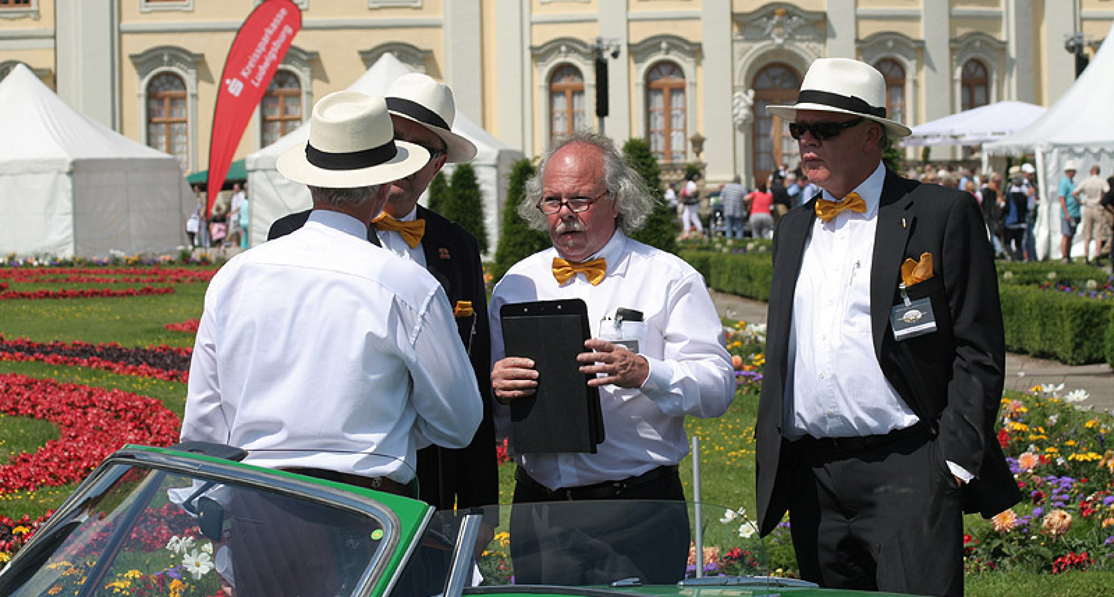 Retro Classics meets Barock 2011: Vielfalt im Schlosspark
