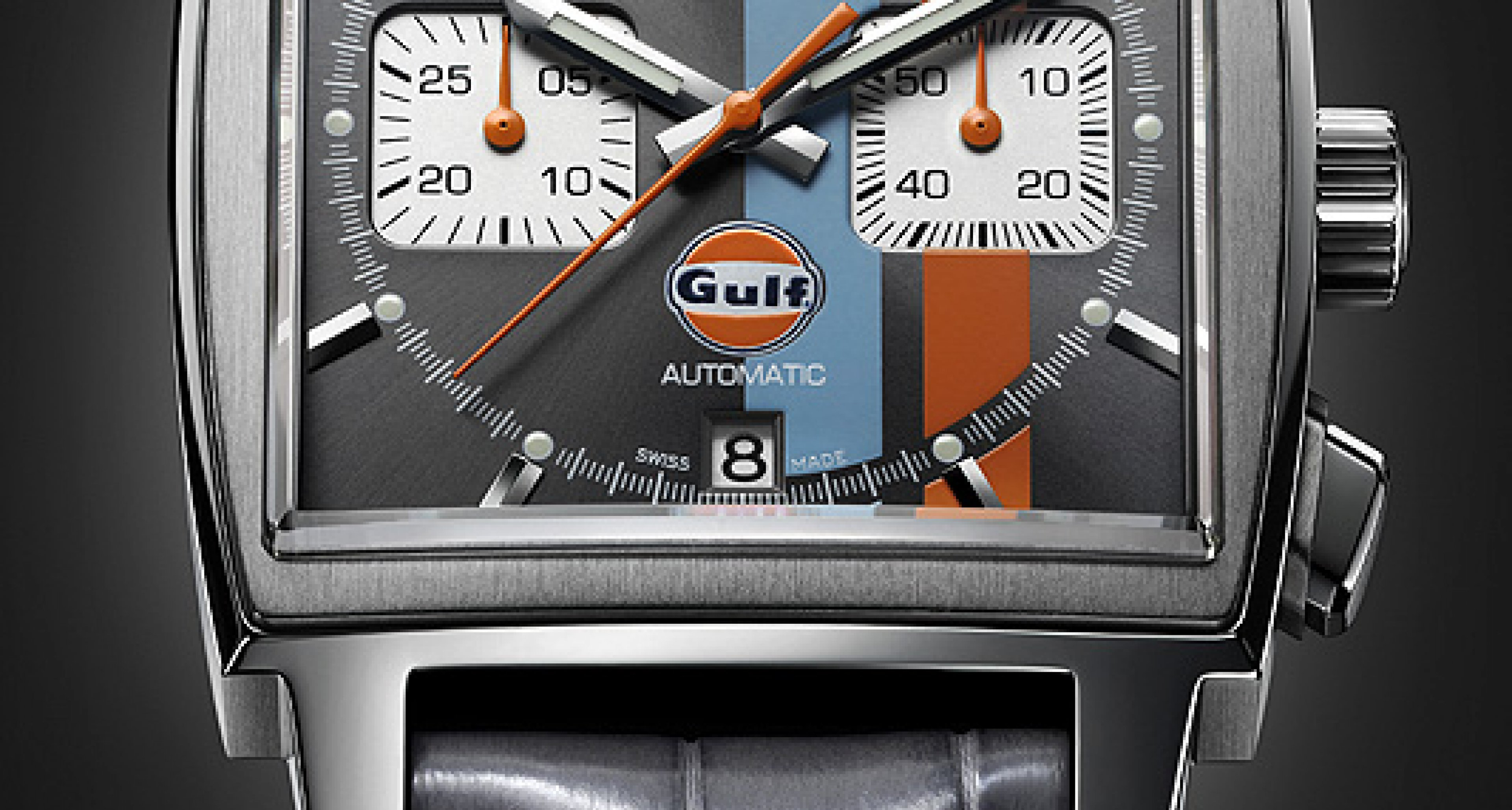 Tag Heuer Monaco Gulf Edition: McQueen-Time