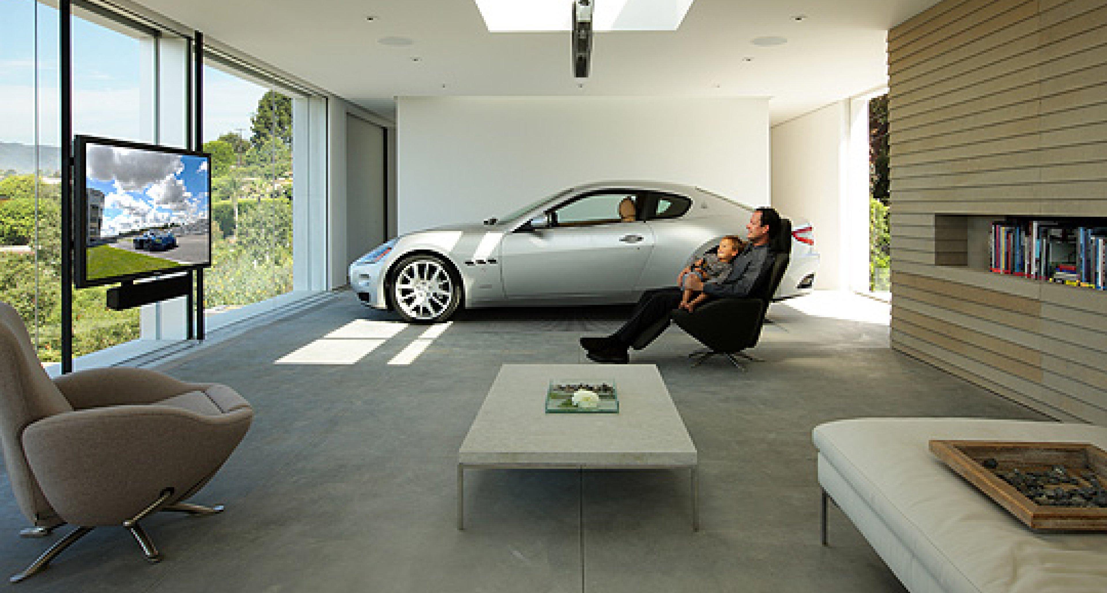 Design Driven: the Perfect Maserati Garage