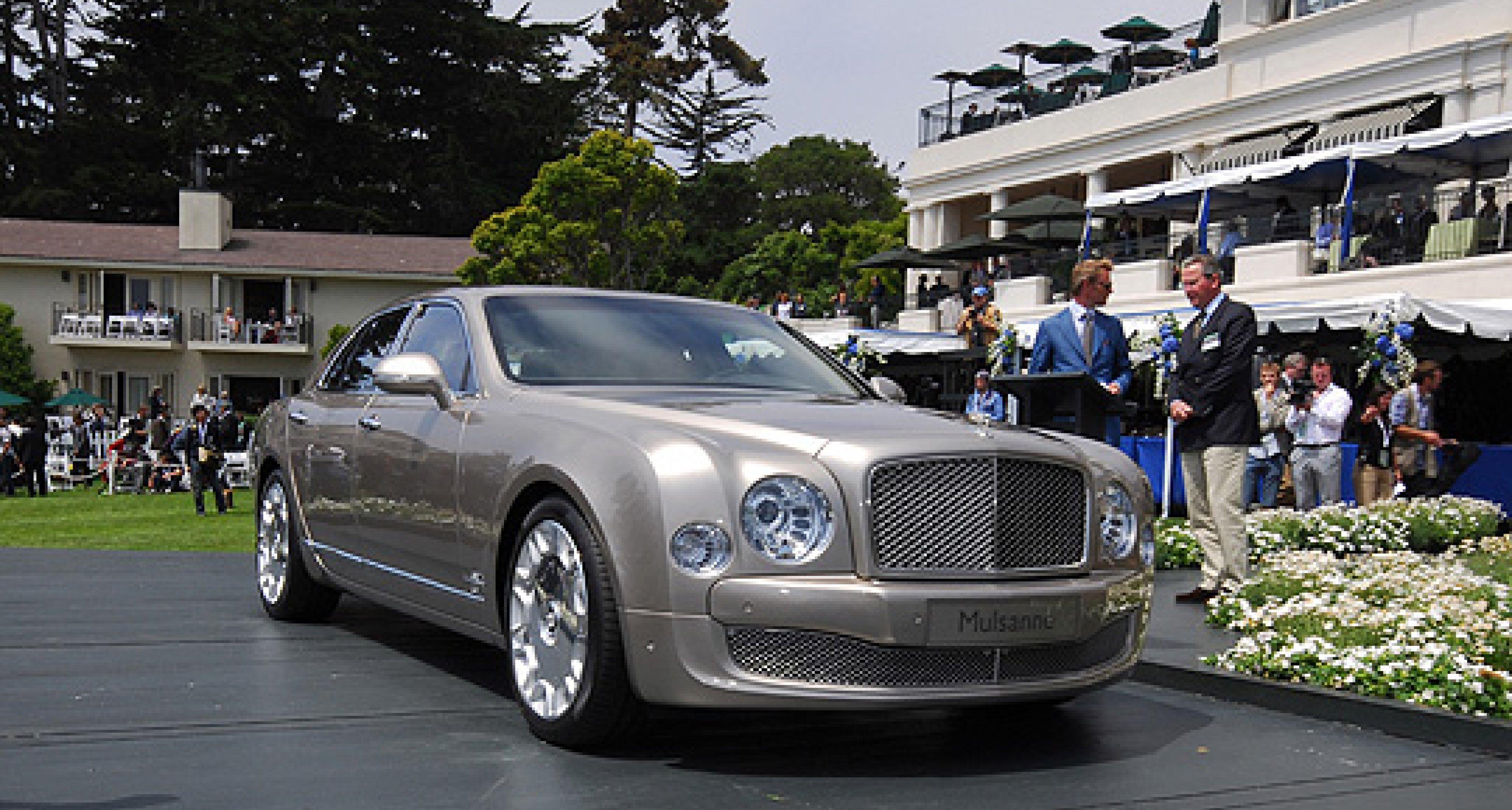 Bentley Mulsanne #1 versteigert