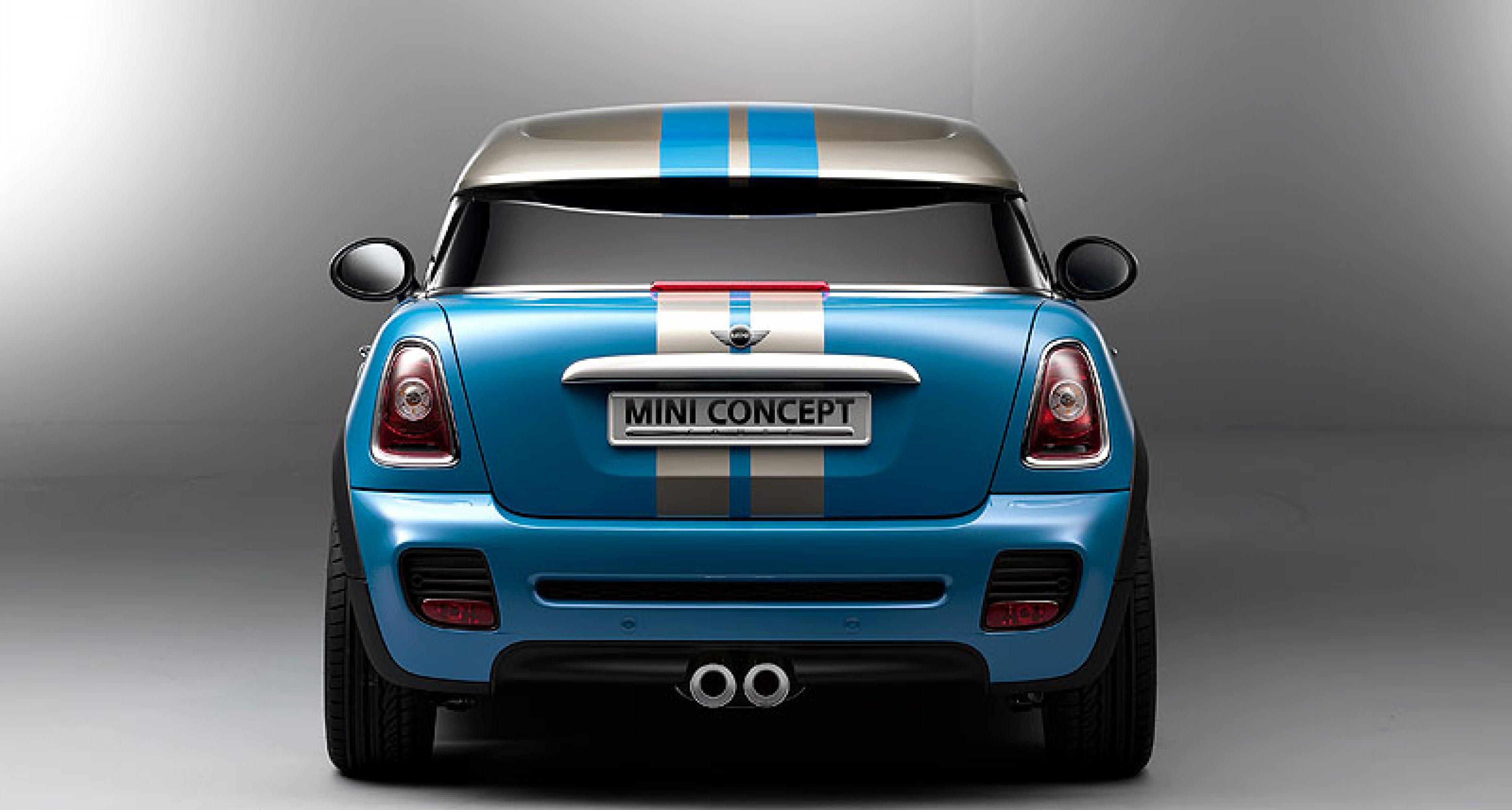 Mini Coupé Concept: Leichte Kopfbedeckung