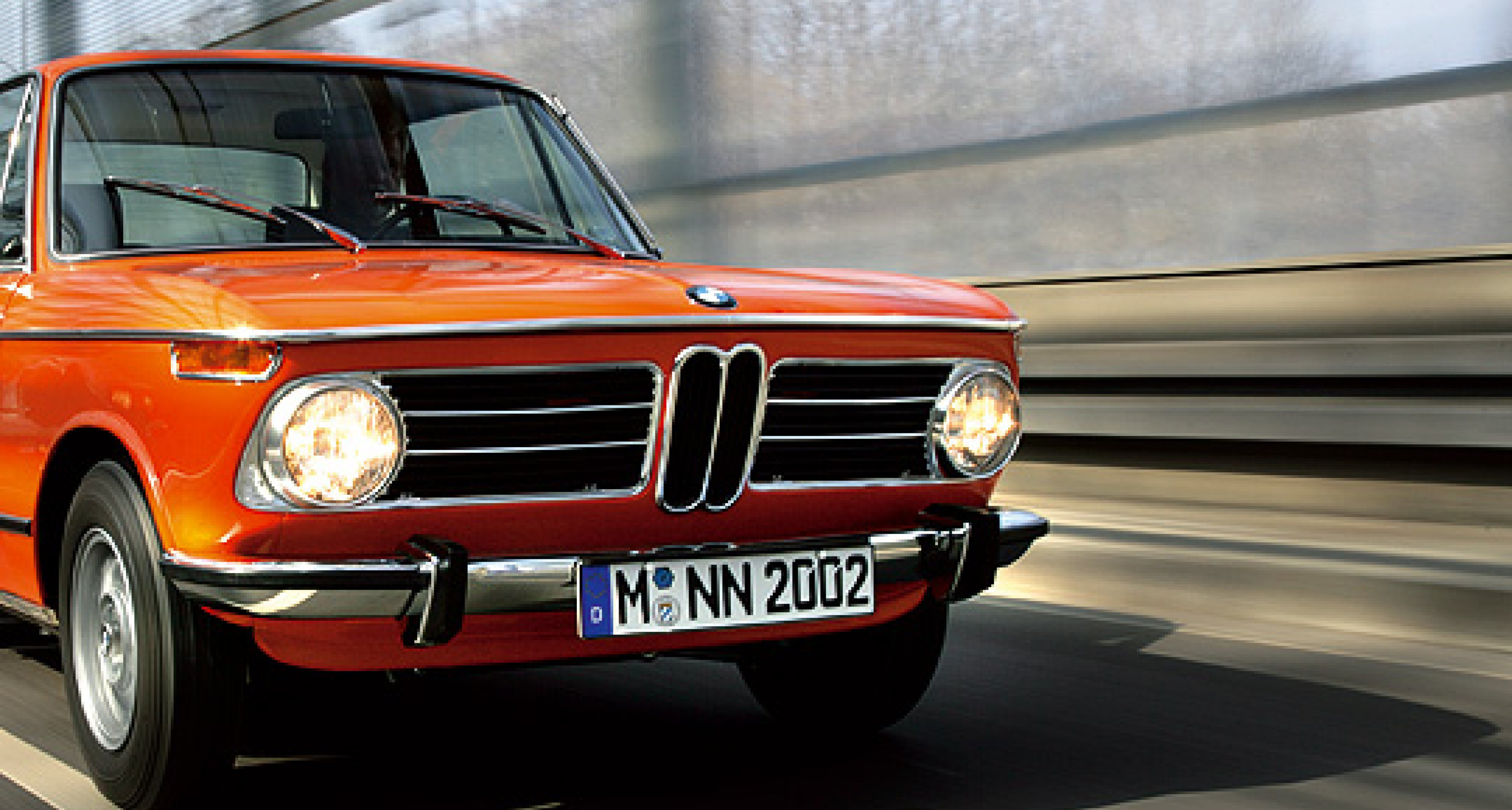 Im letzten BMW 2002 tii von Hamburg nach Berlin