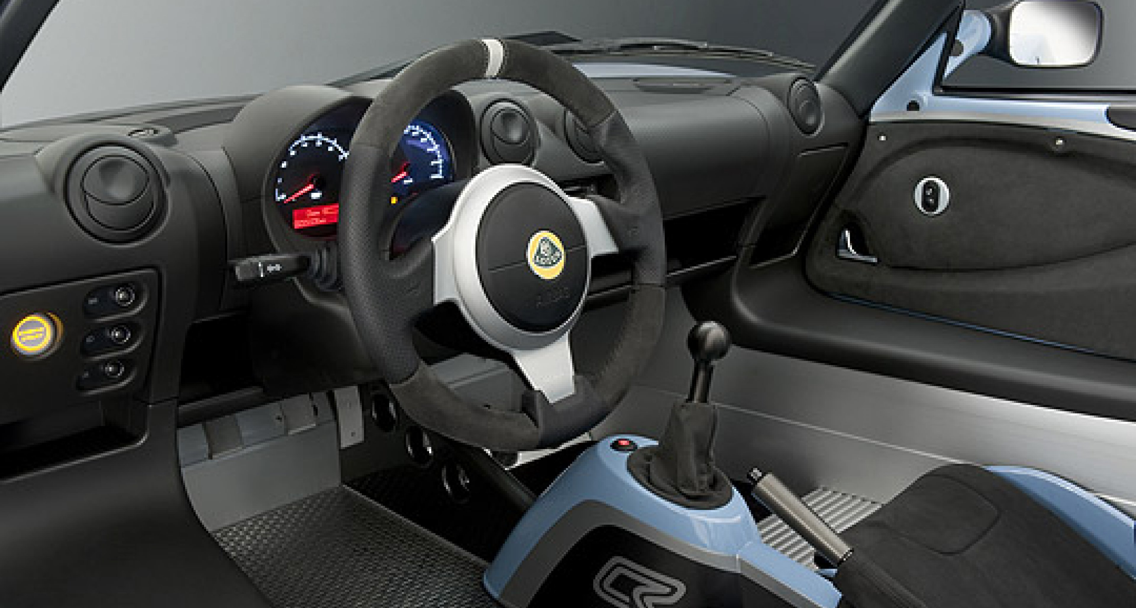 Lotus Elise Club Racer: Farbe trifft Funktion