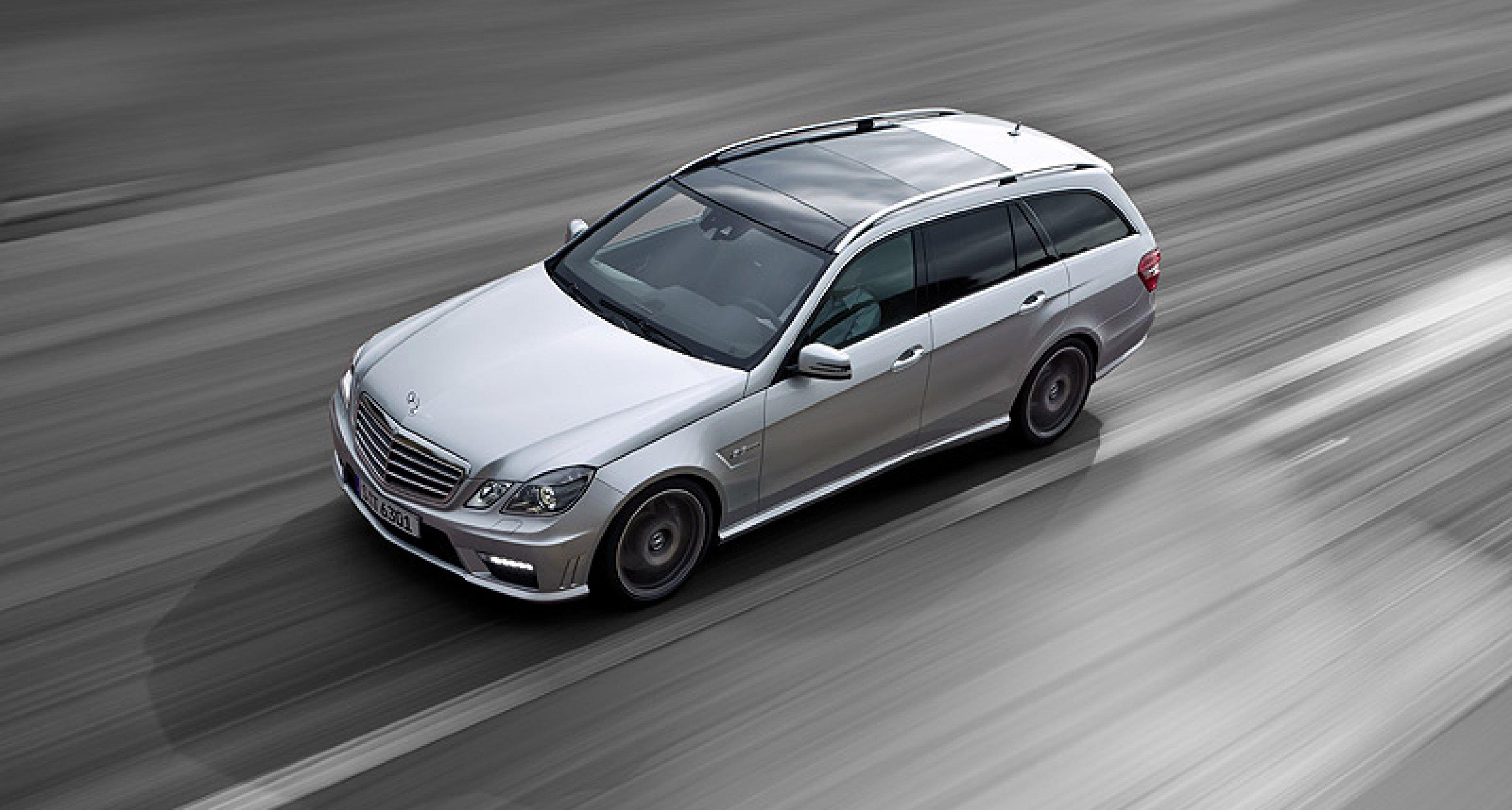 Mercedes-Benz E 63 T-Modell: Später Trumpf