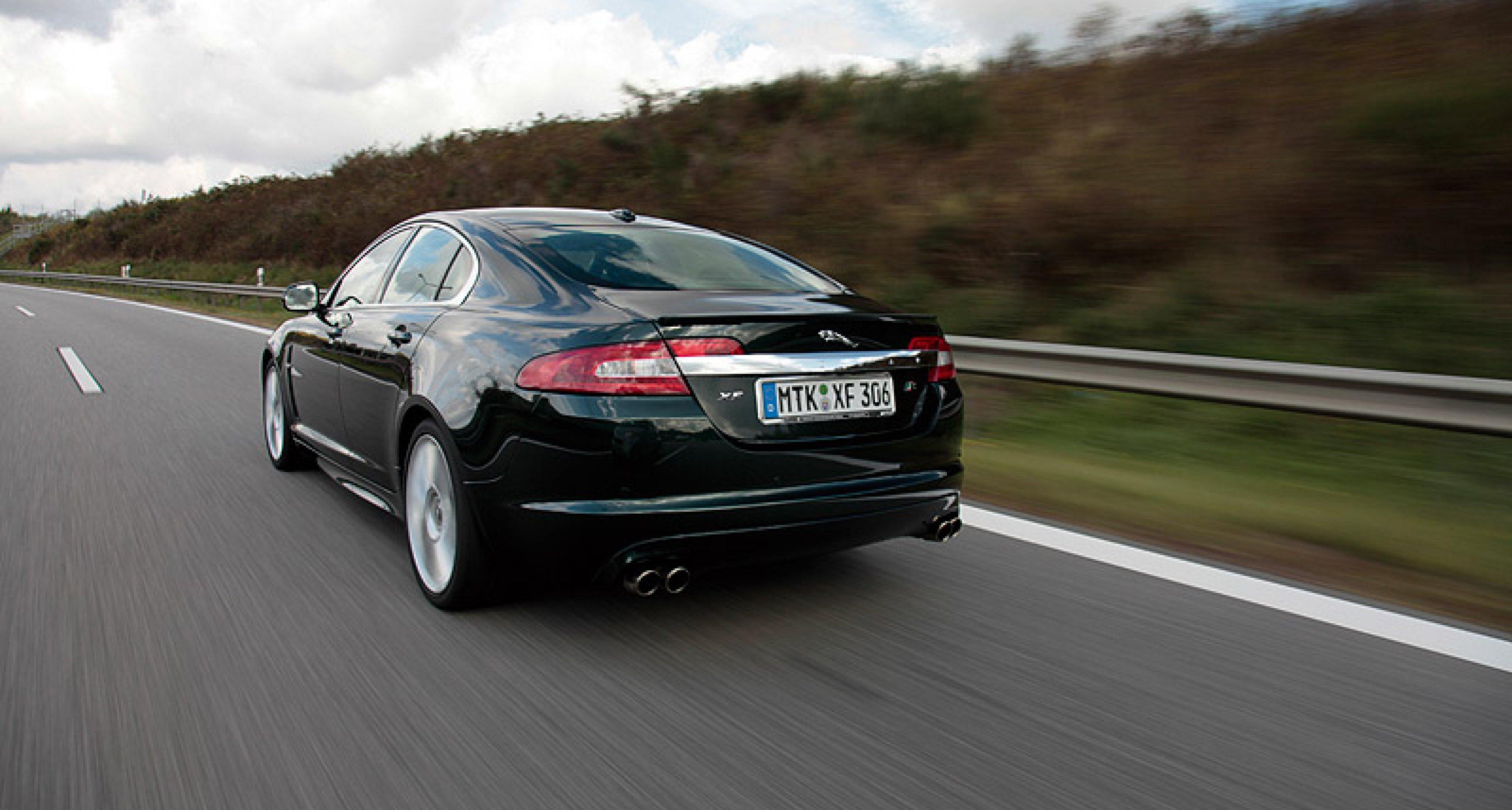 Jaguar XFR: Aus dem Vollen geschöpft