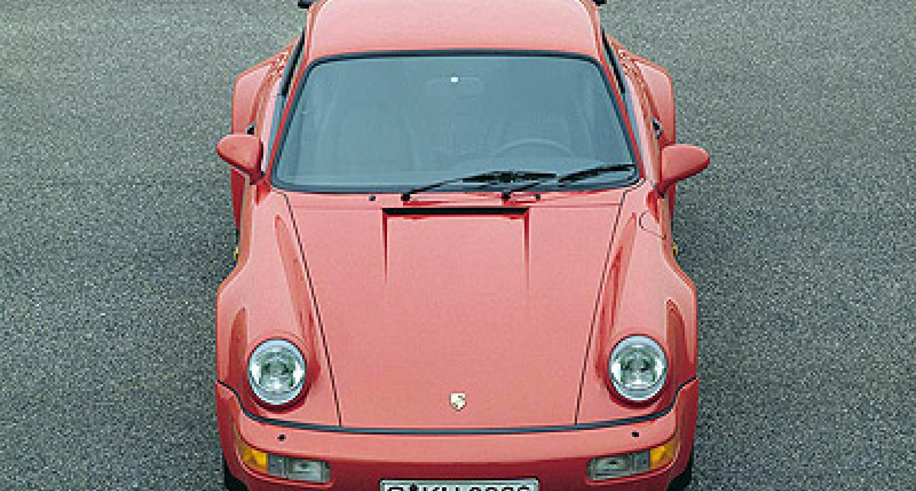 Porsche 911 Turbo Generationen