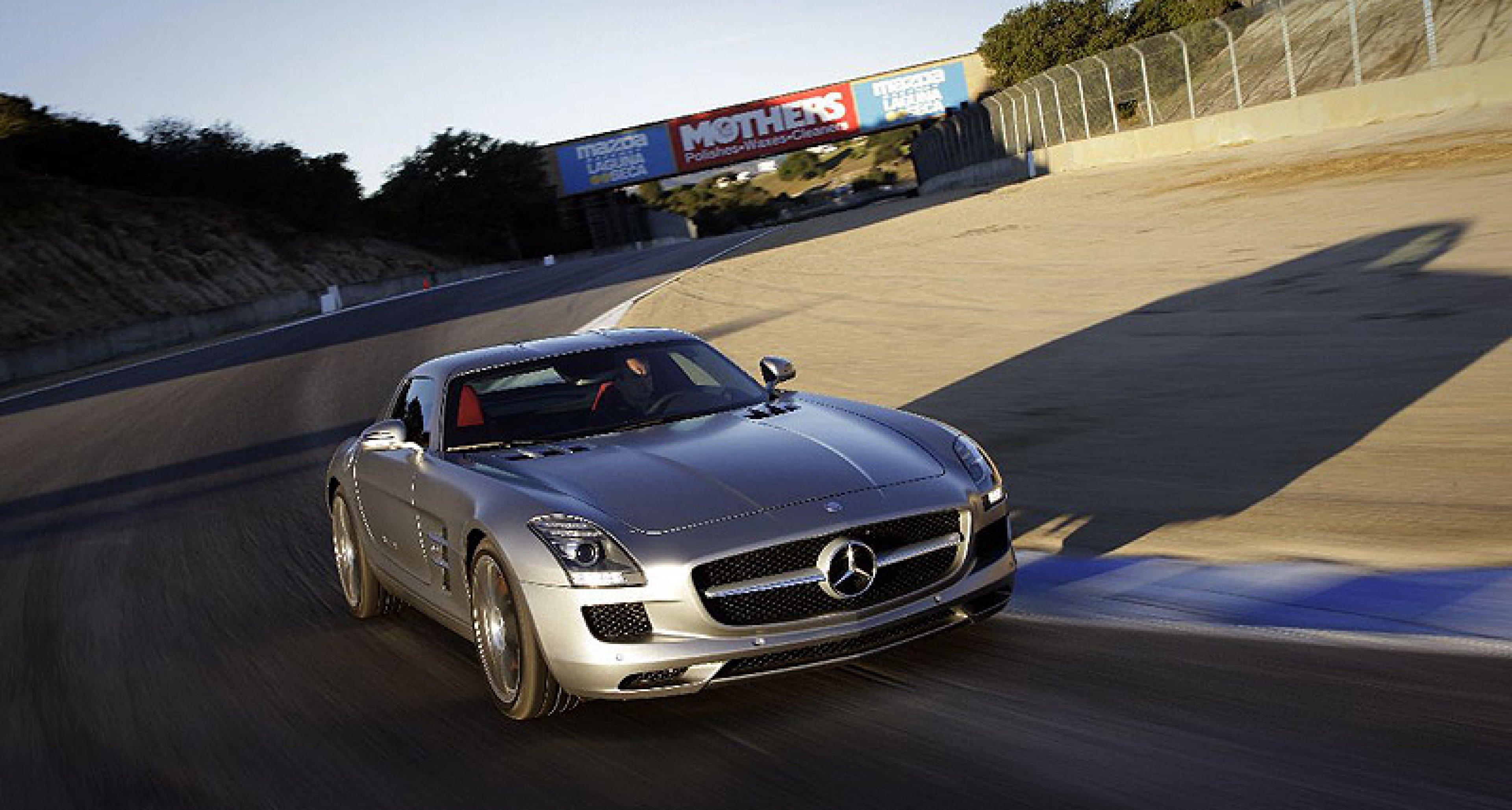 First Drive: Mercedes SLS AMG