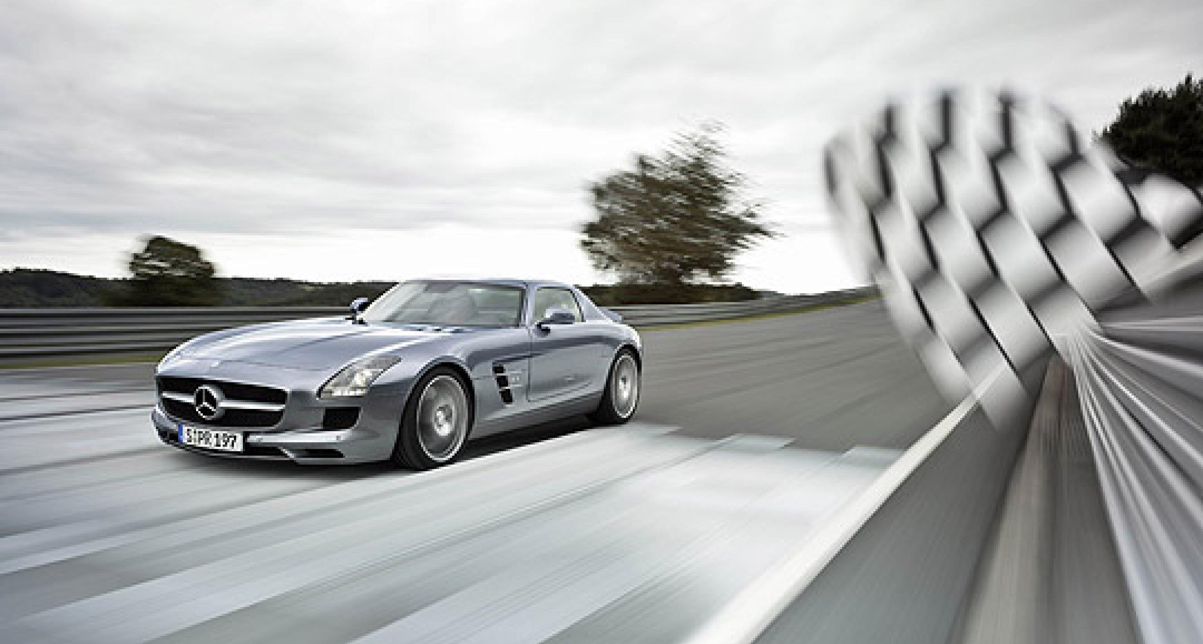 Mercedes-Benz SLS AMG: Jetzt bestellen!