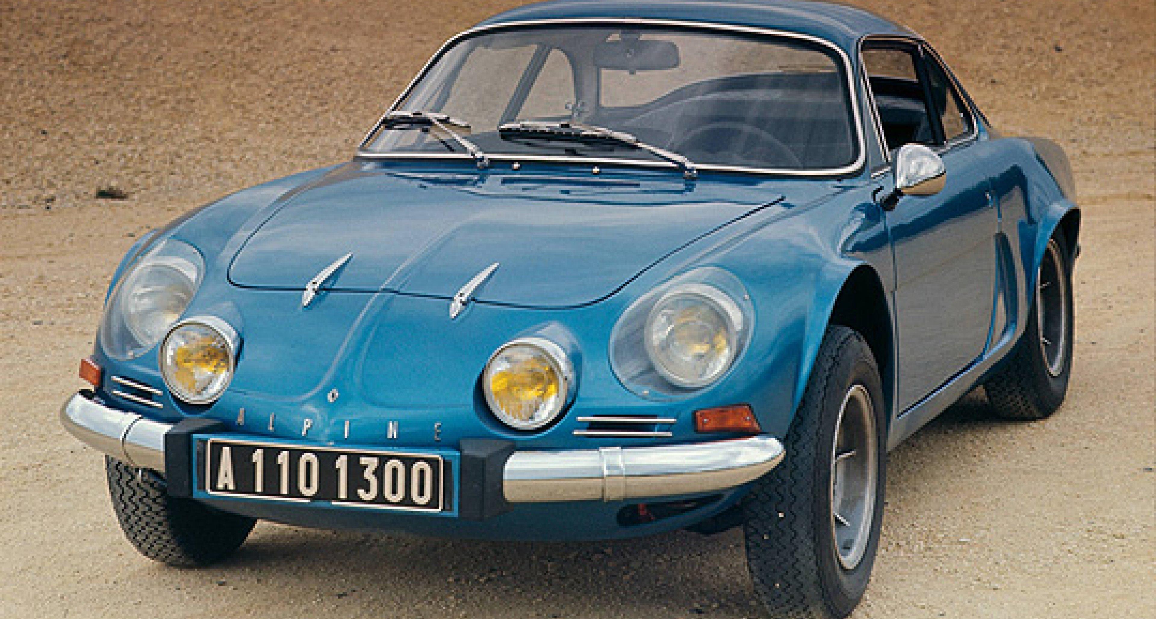 Sleeping Beauty Nº6:  Renault Alpine A110