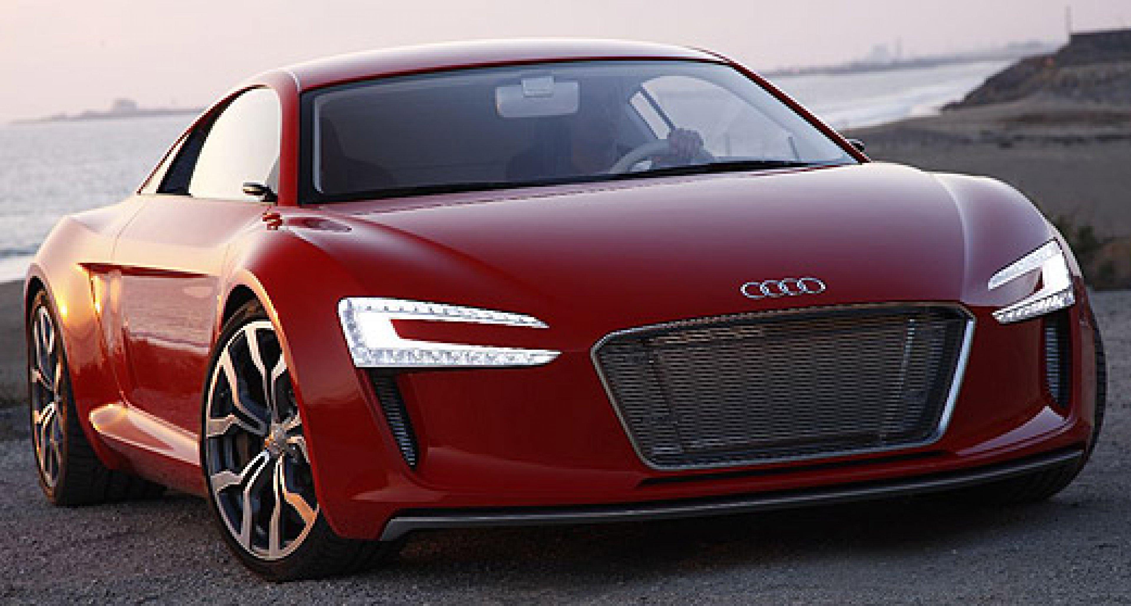 Audi e-tron: Elektronen-Beschleuniger