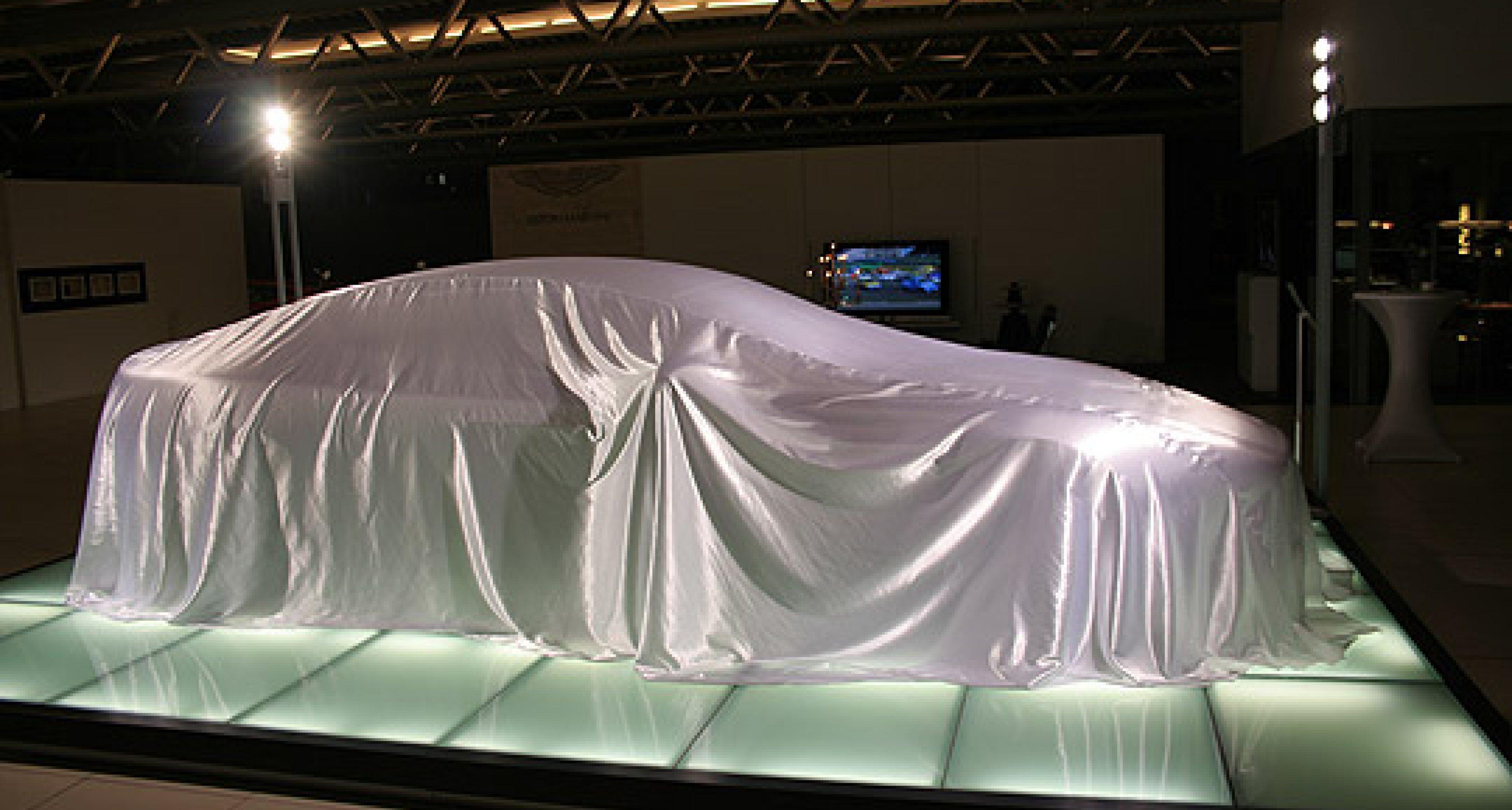Aston Martin Rapide: Premiere bei Tamsen