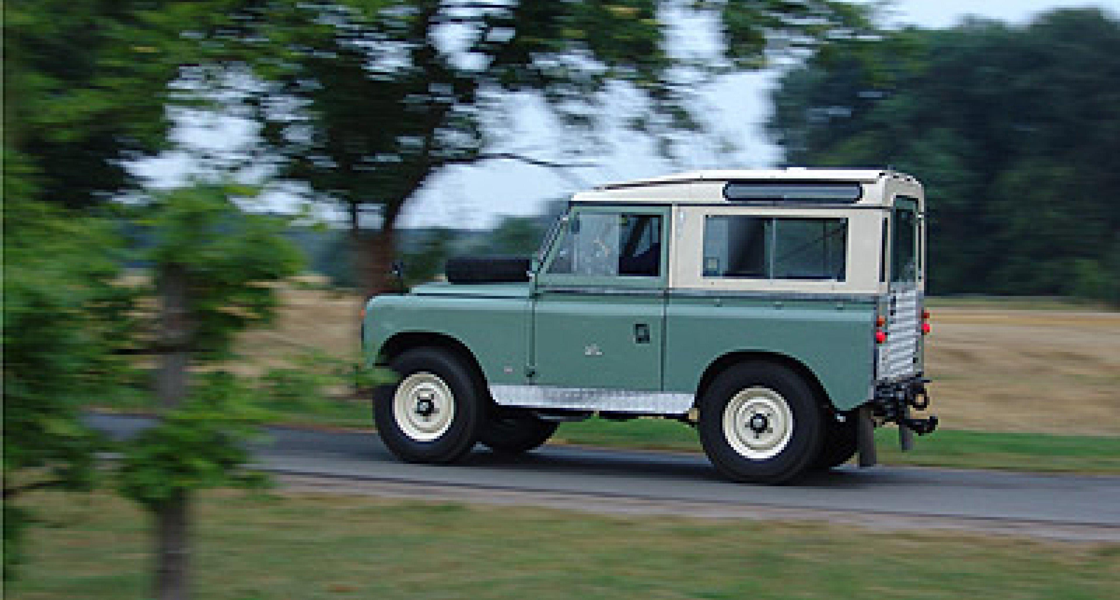 Land Rover Serie II A