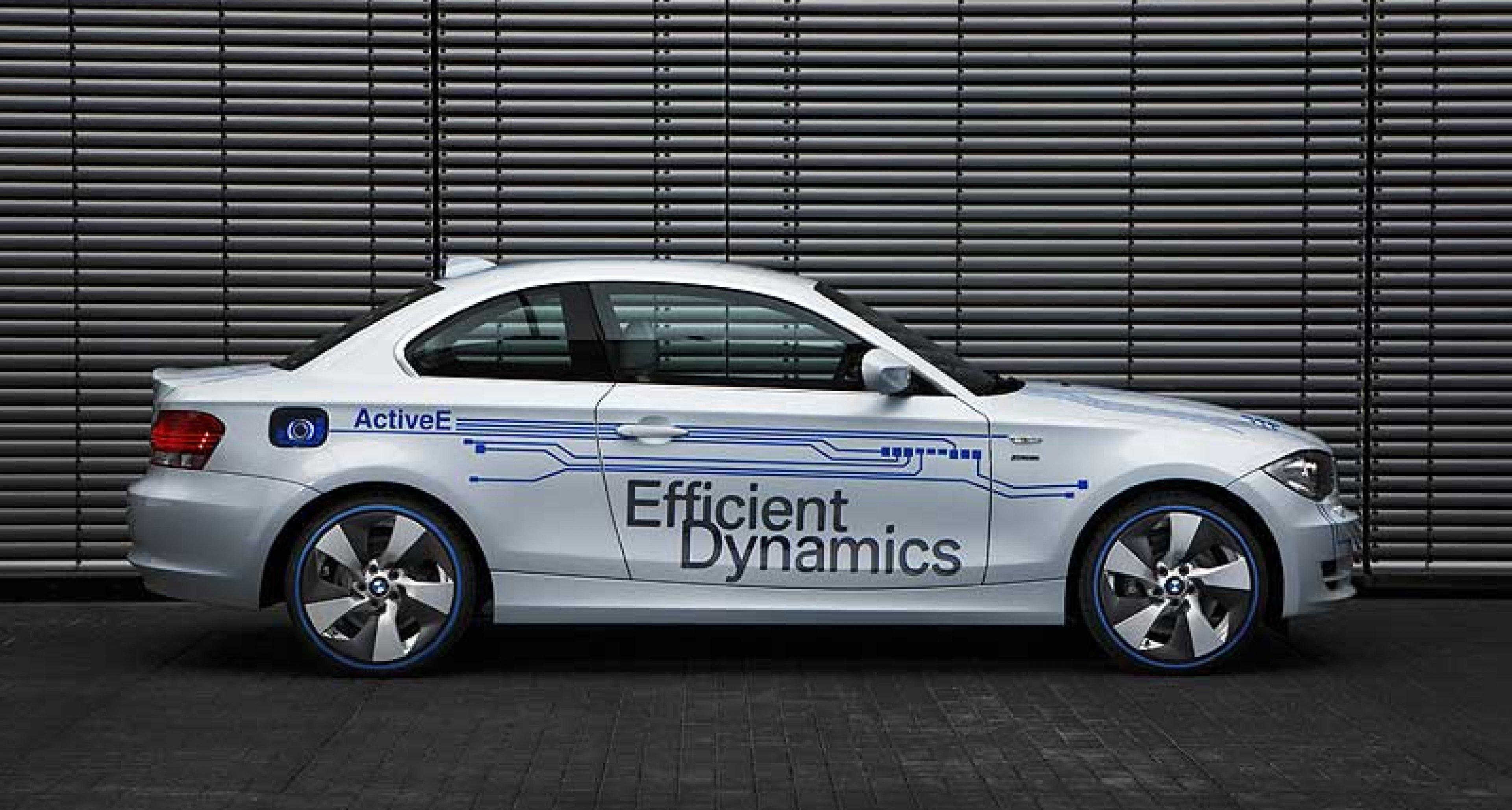 BMW Concept ActiveE: Elektro-Einser mit Zukunft