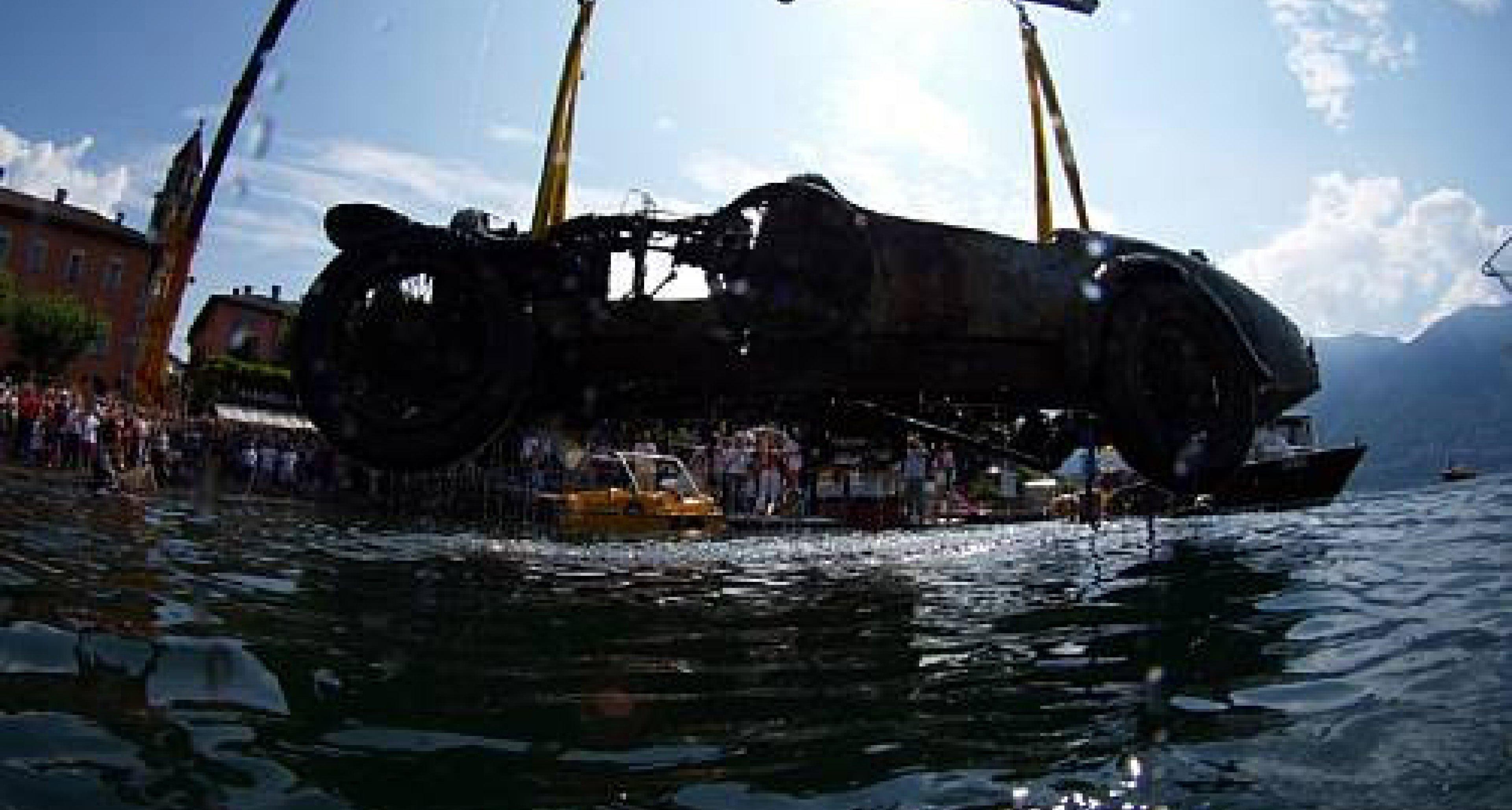 Bonhams verkauft Bugatti-Fund aus dem Lago Maggiore