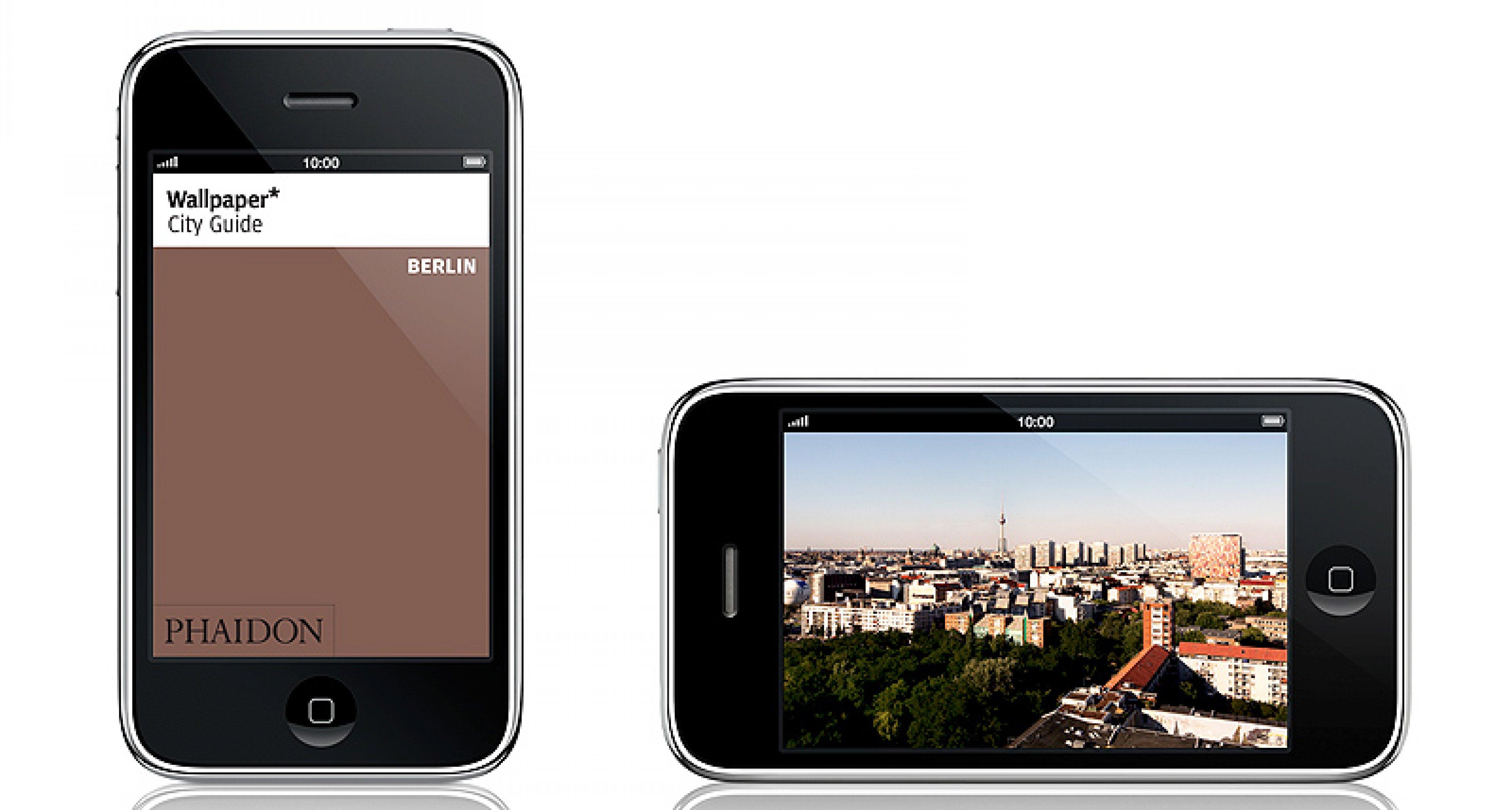 Wallpaper* City Guides jetzt auch für iPhone und iPod Touch