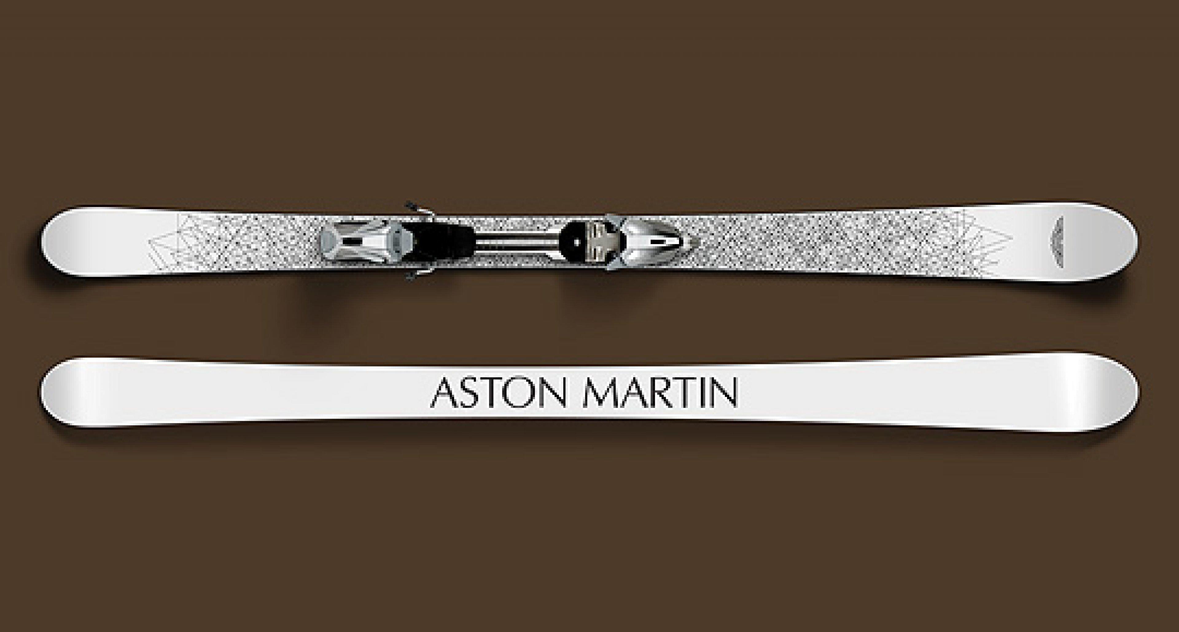 Aston Martin Skis: Morning Frost
