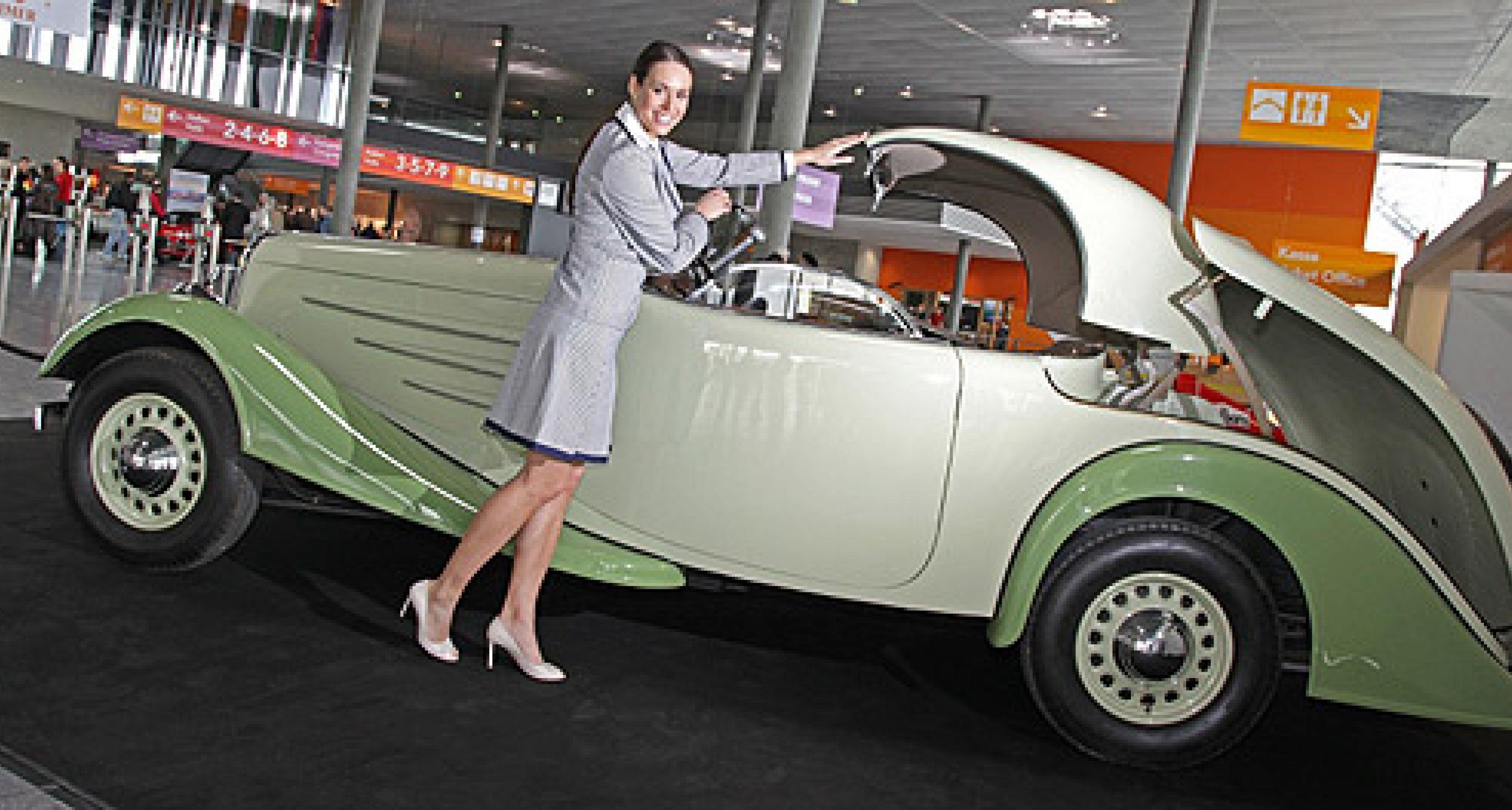Retro Classics 2010: Mobilität von gestern, heute und morgen