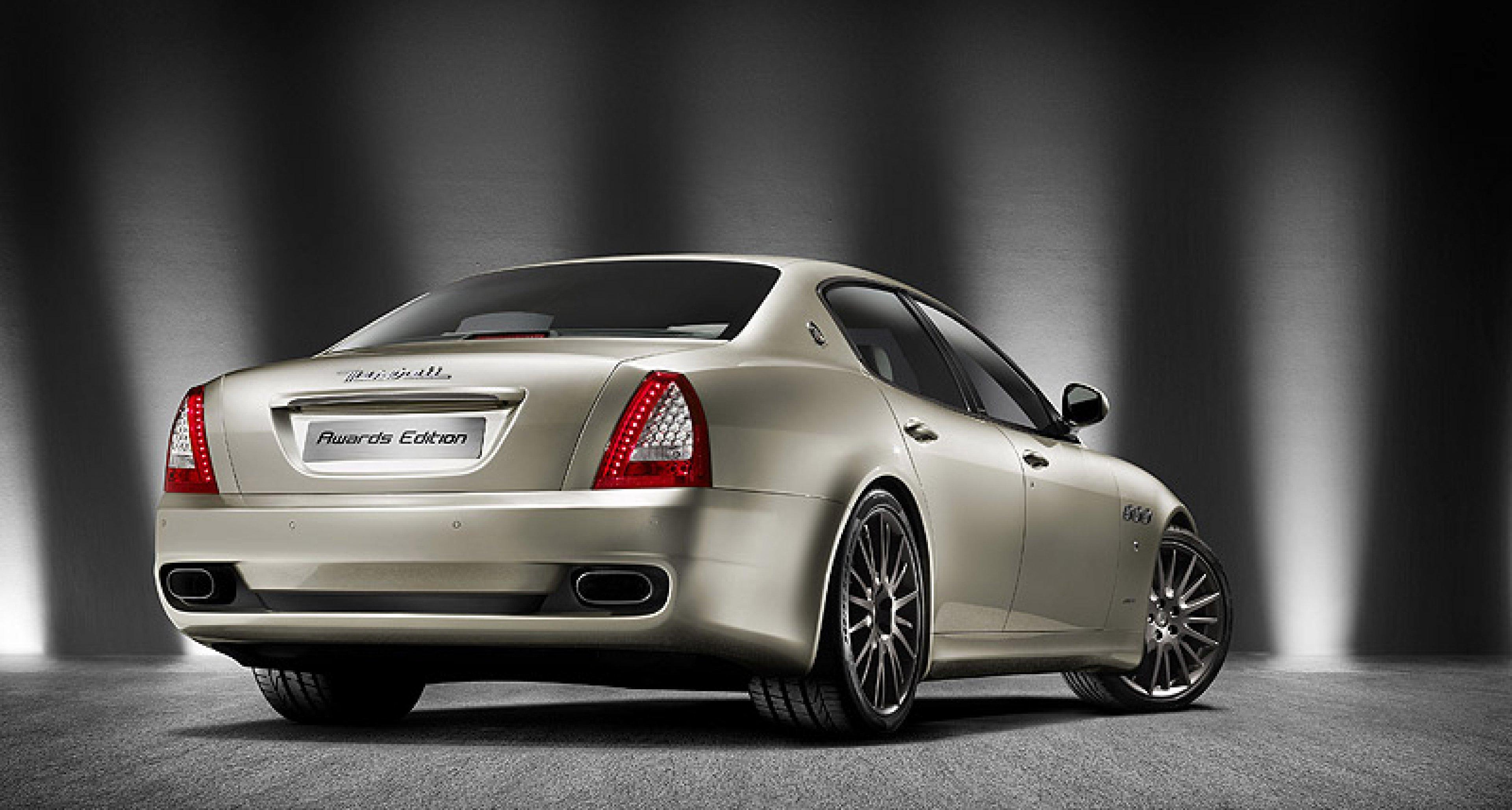 Maserati Quattroporte Sport GT S Awards Edition: Sonderauflage