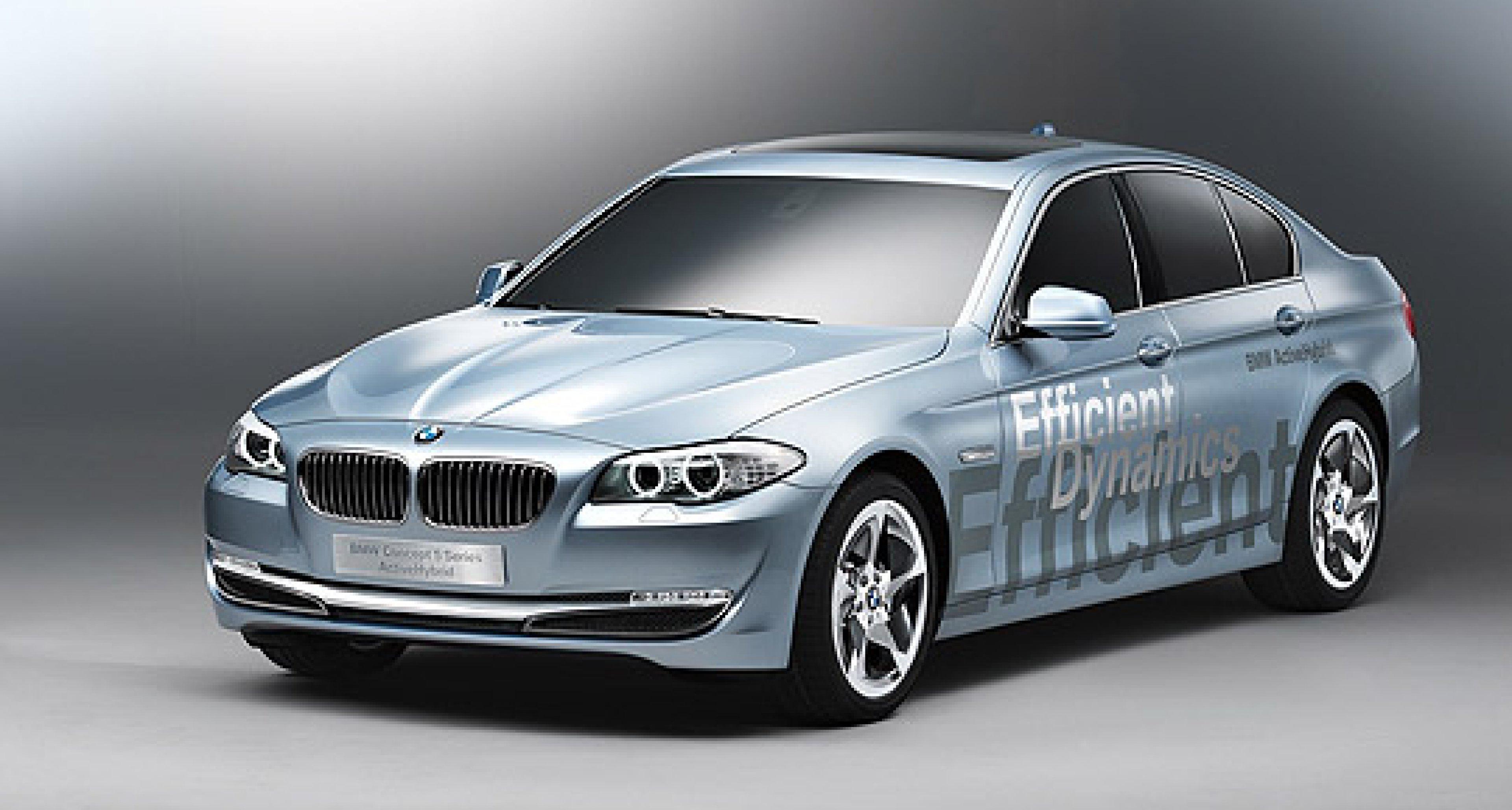BMW Concept 5er Active Hybrid