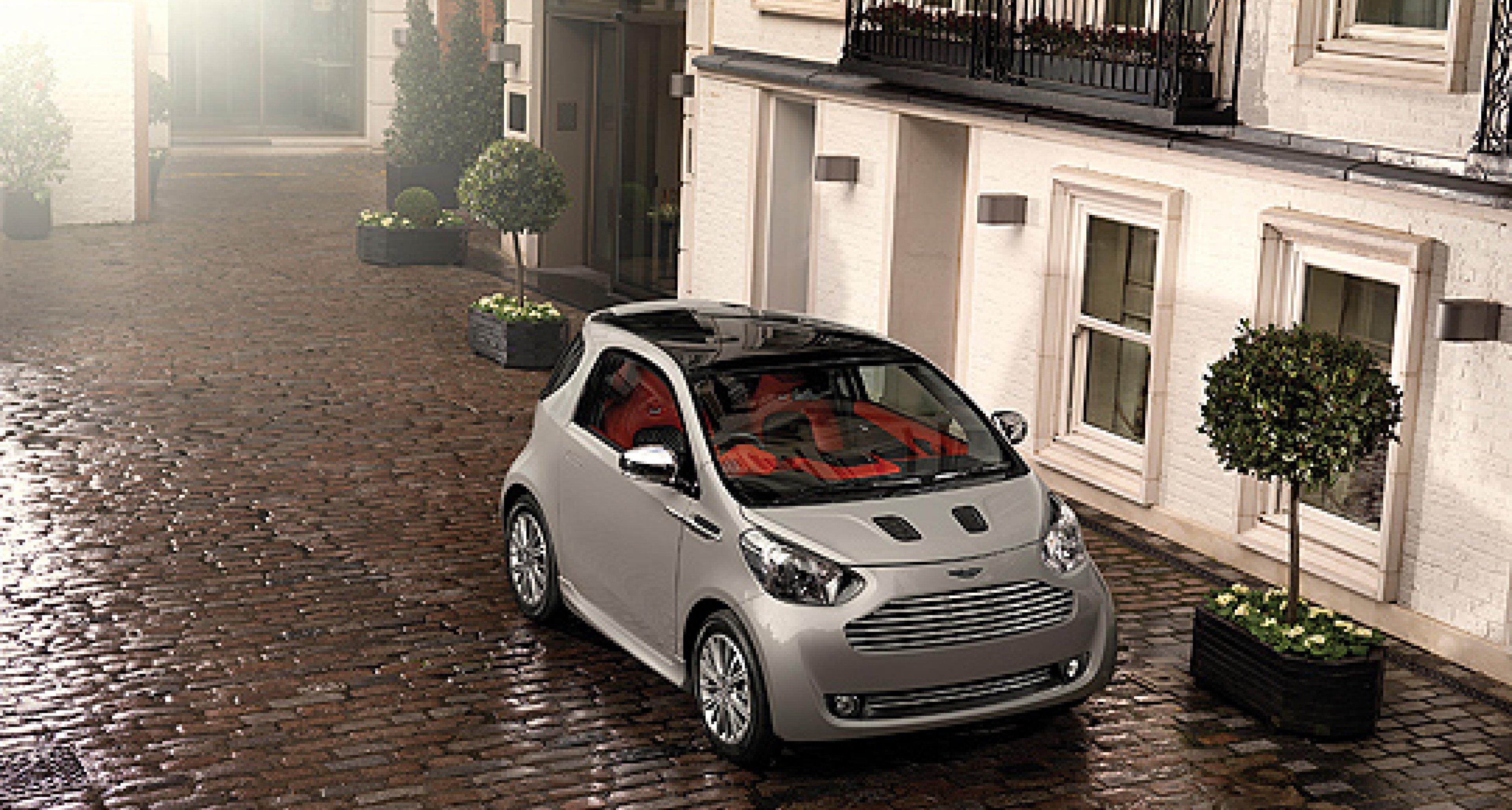 Aston Martin Cygnet Concept: Auf die Straße