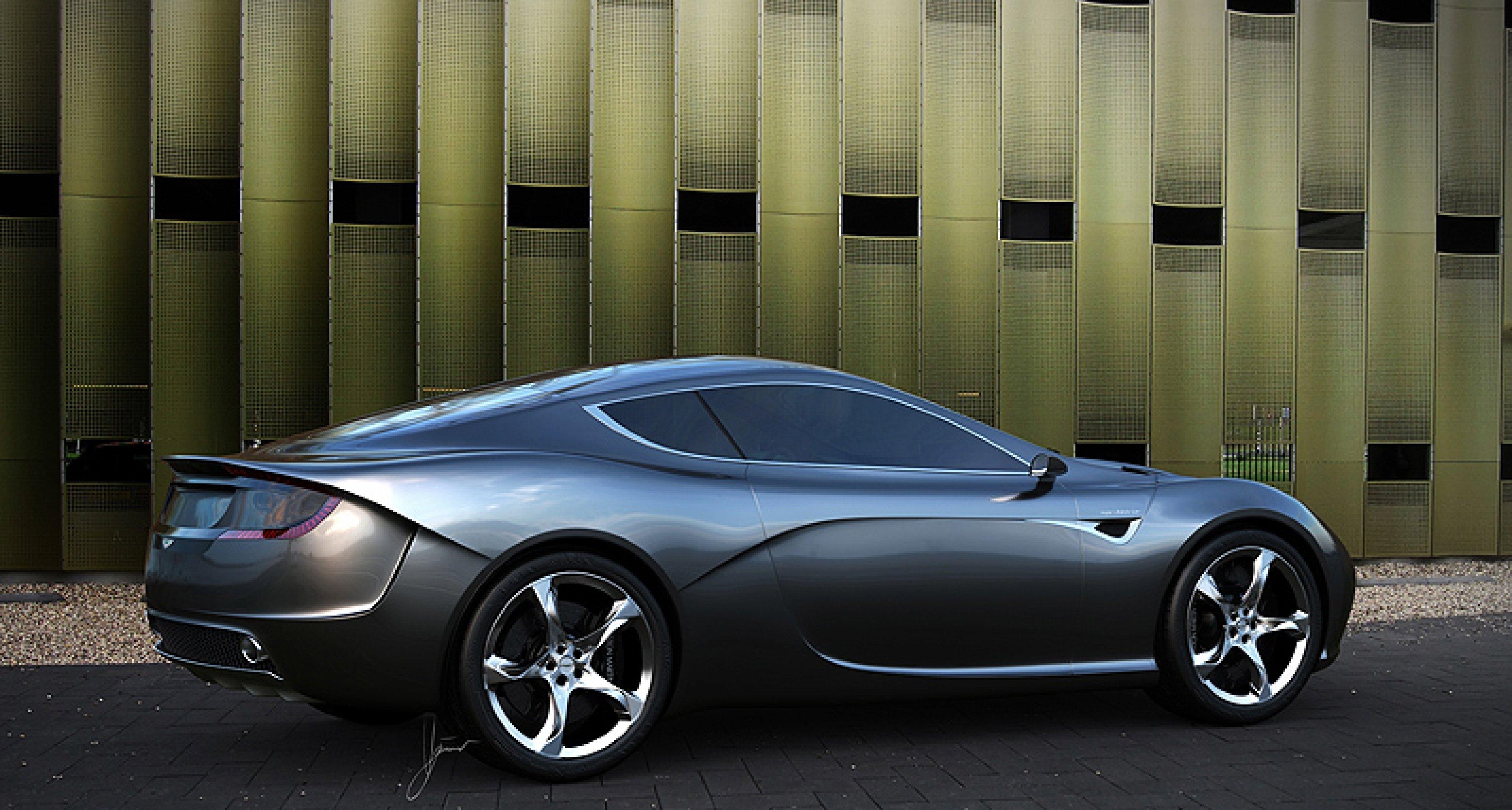 Aston Martin Gauntlet Concept: Fehdehandschuh!