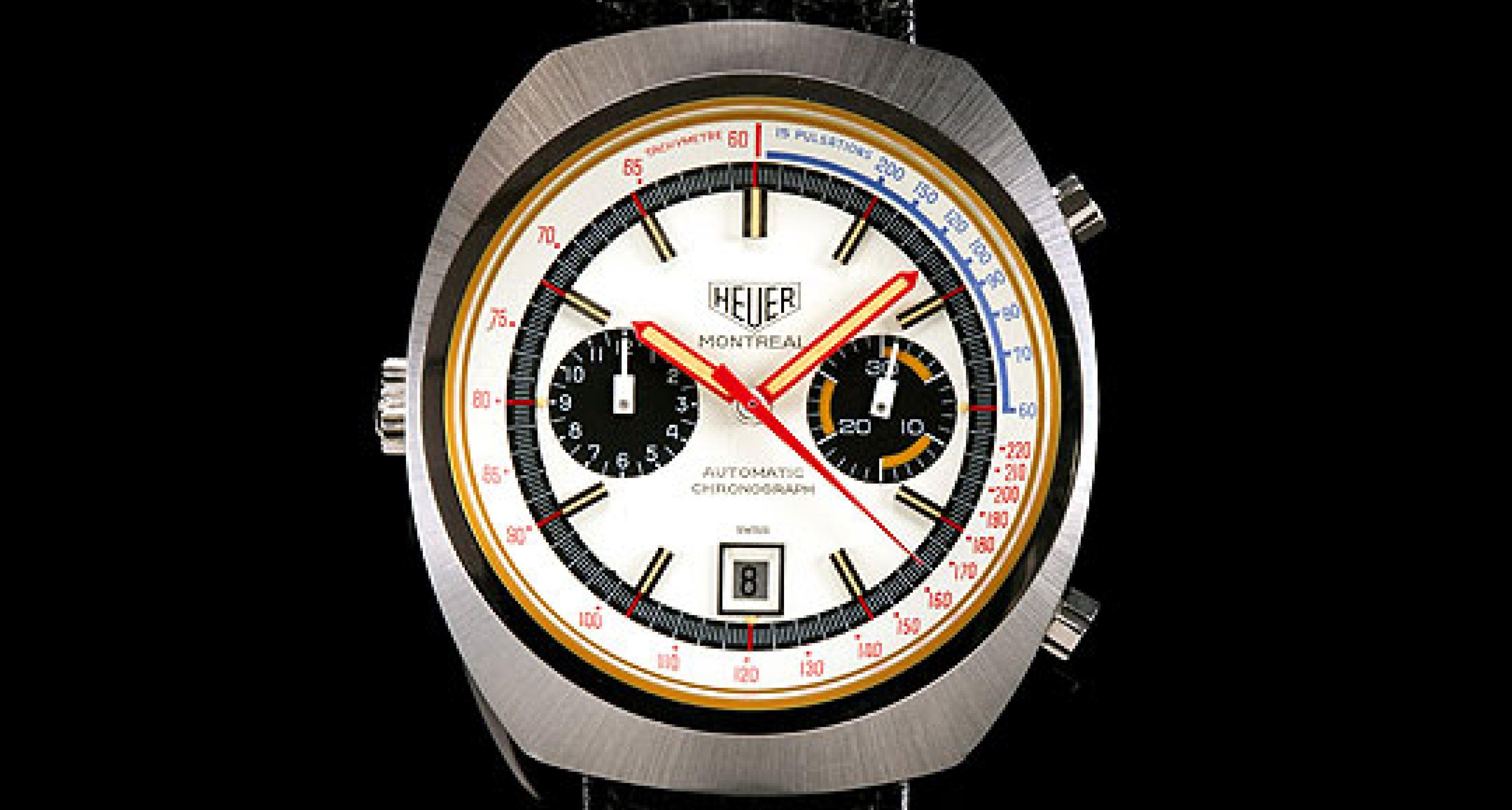 Uhren-Auktion: Die Heuer Haslinger-Sammlung