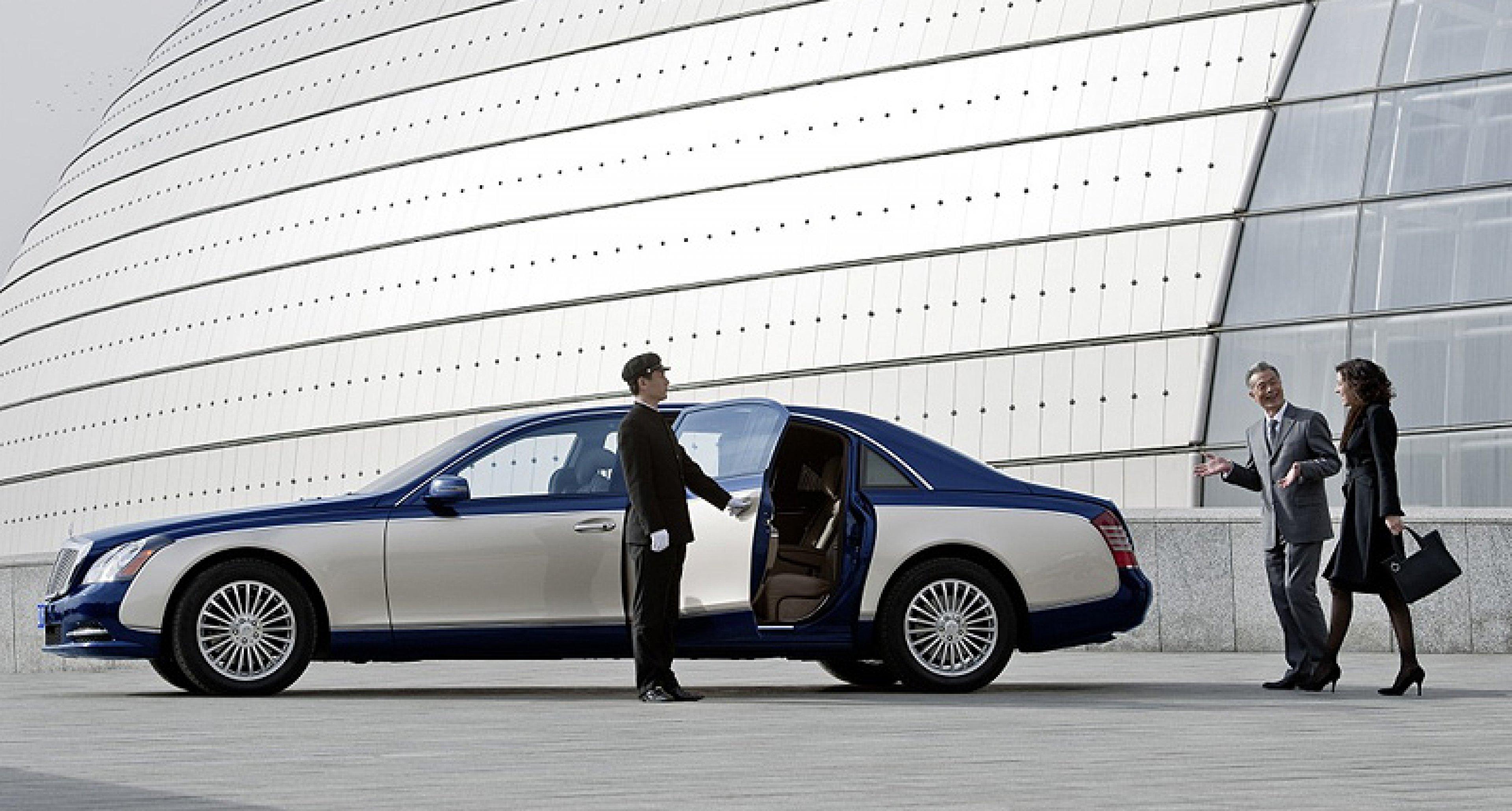 Maybach in Beijing