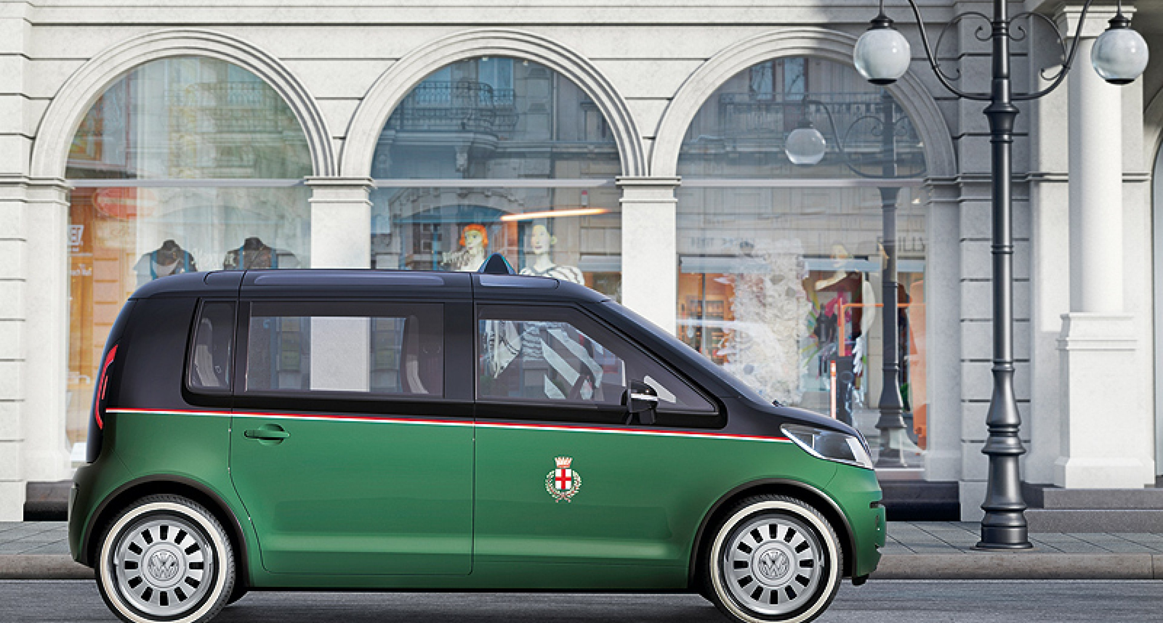 VW Milano Taxi: Elektro-Samba