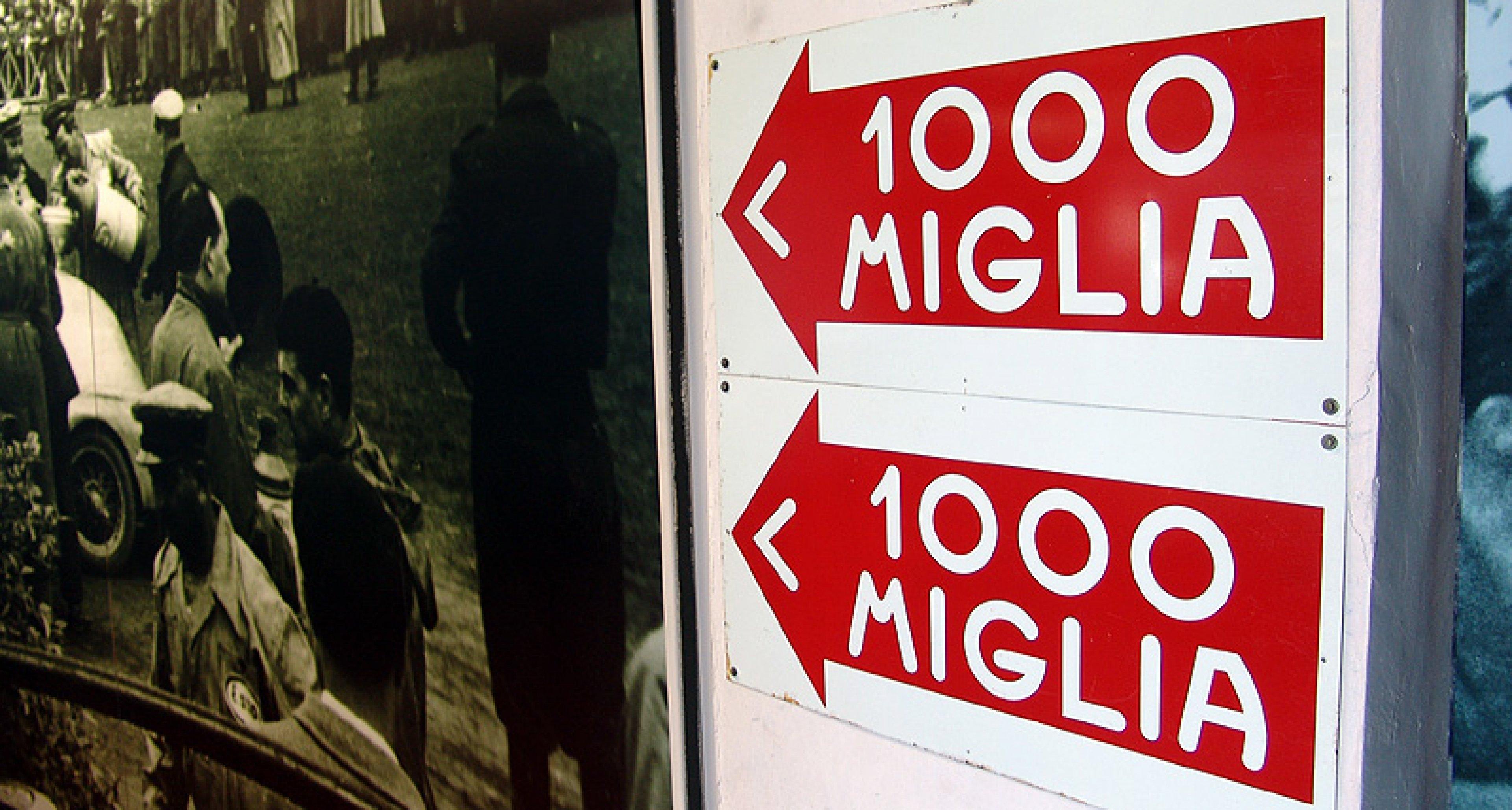 Mille Miglia Museum in Brescia