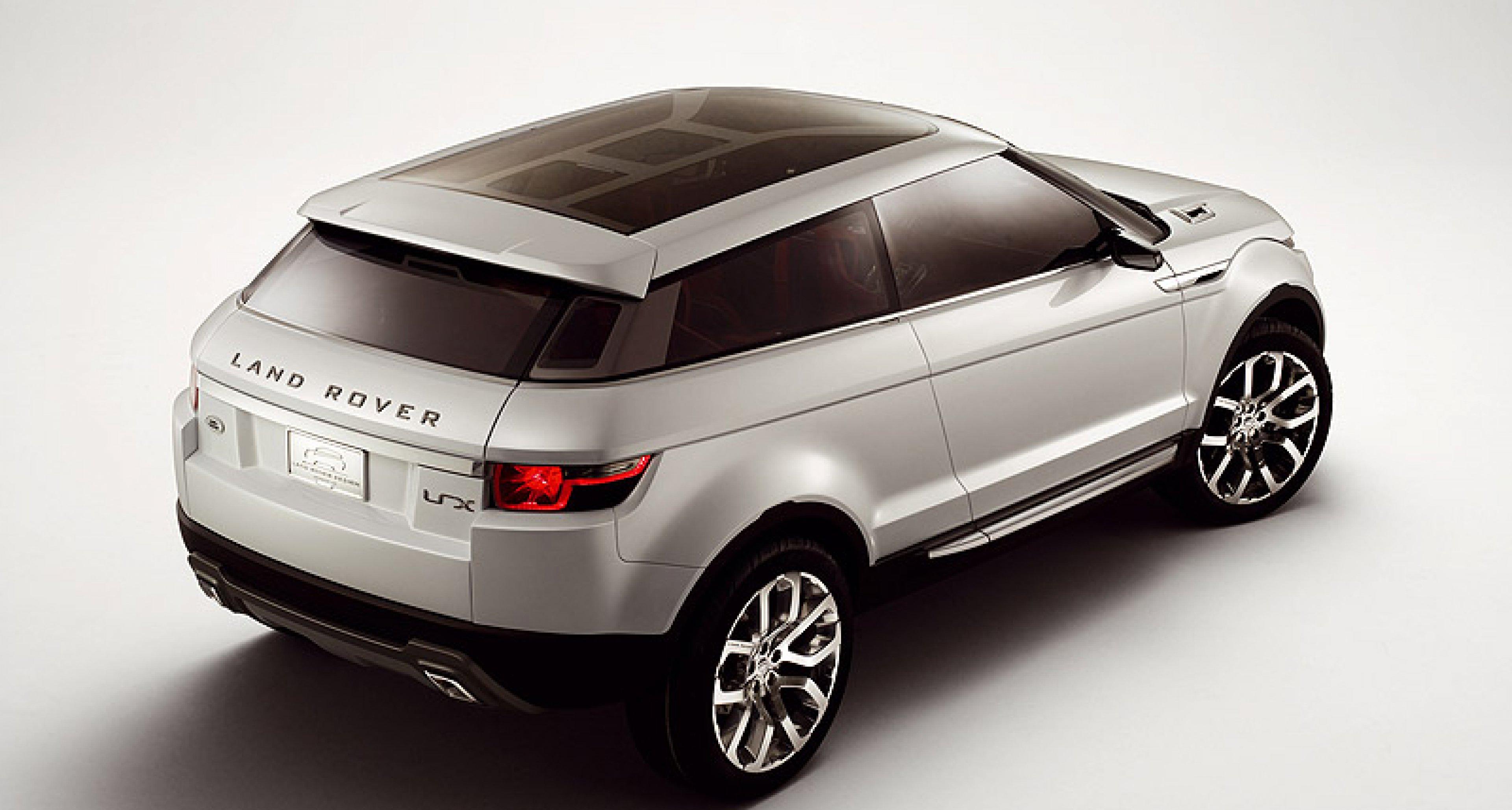 Range Rover LRX kommt mit Hybrid und Frontantrieb