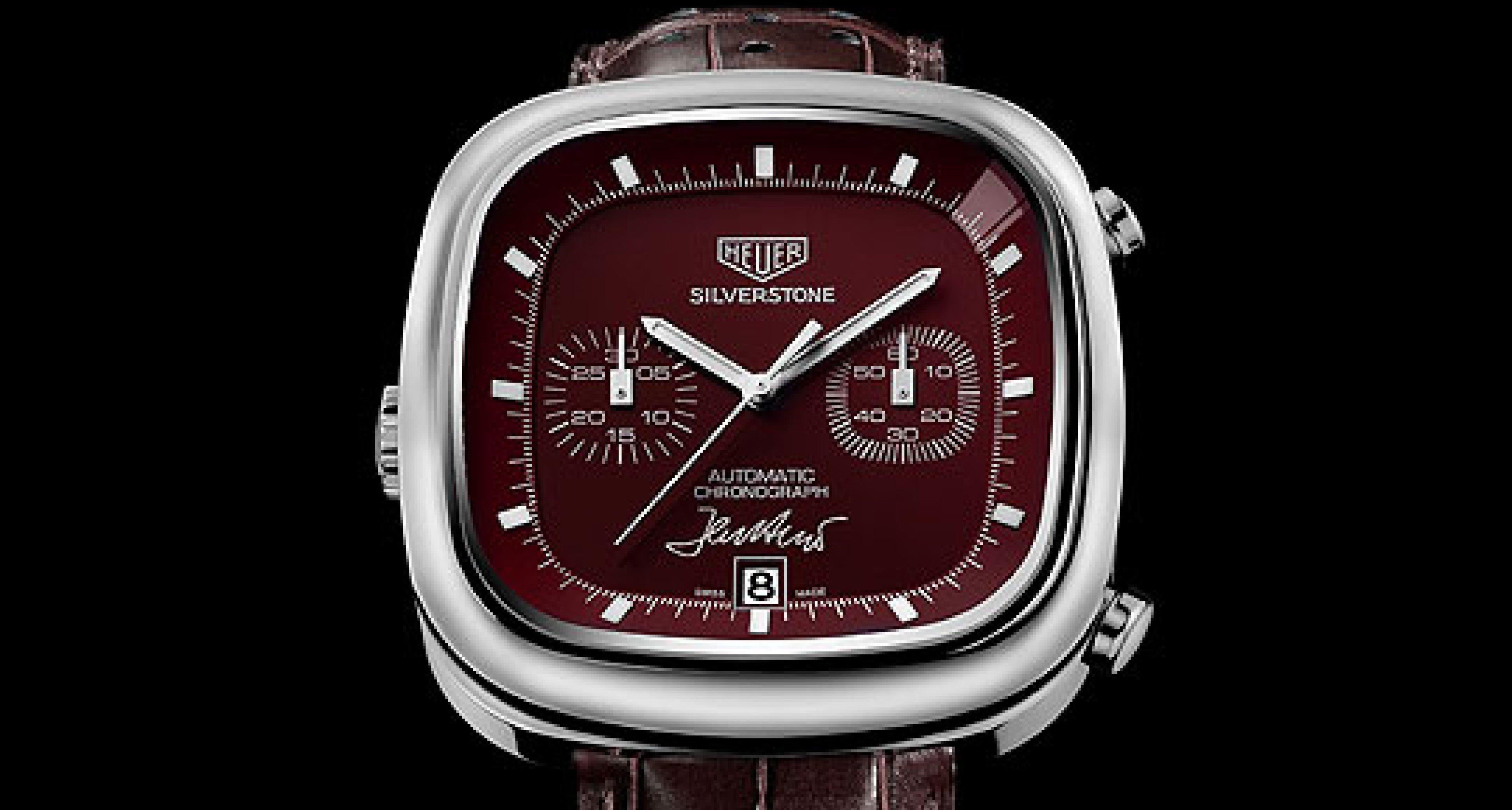 Unique 150th Anniversary Heuer Watch