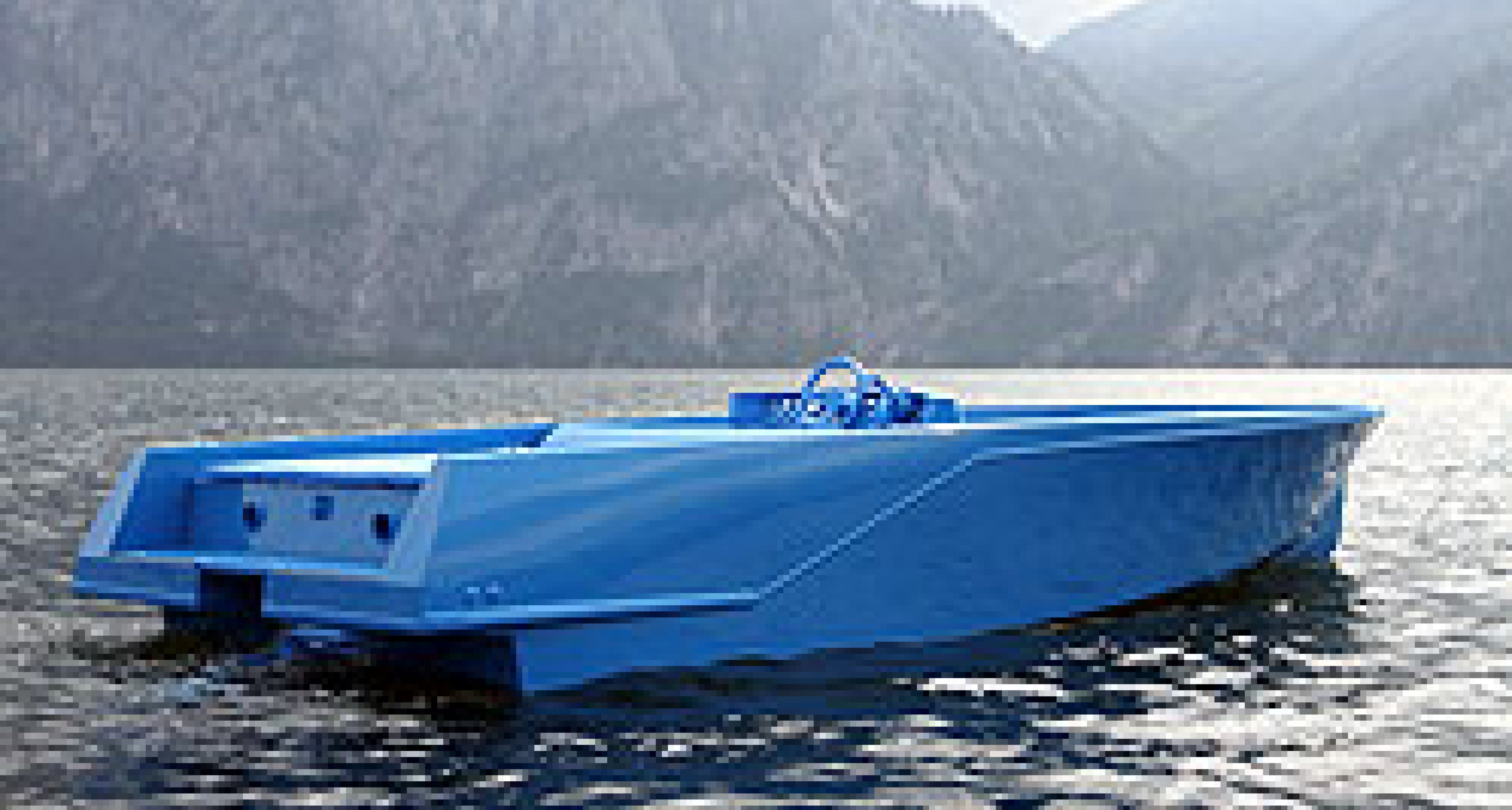 RAL 5015 by Xavier Veilhan: Sportboot als Kunstobjekt