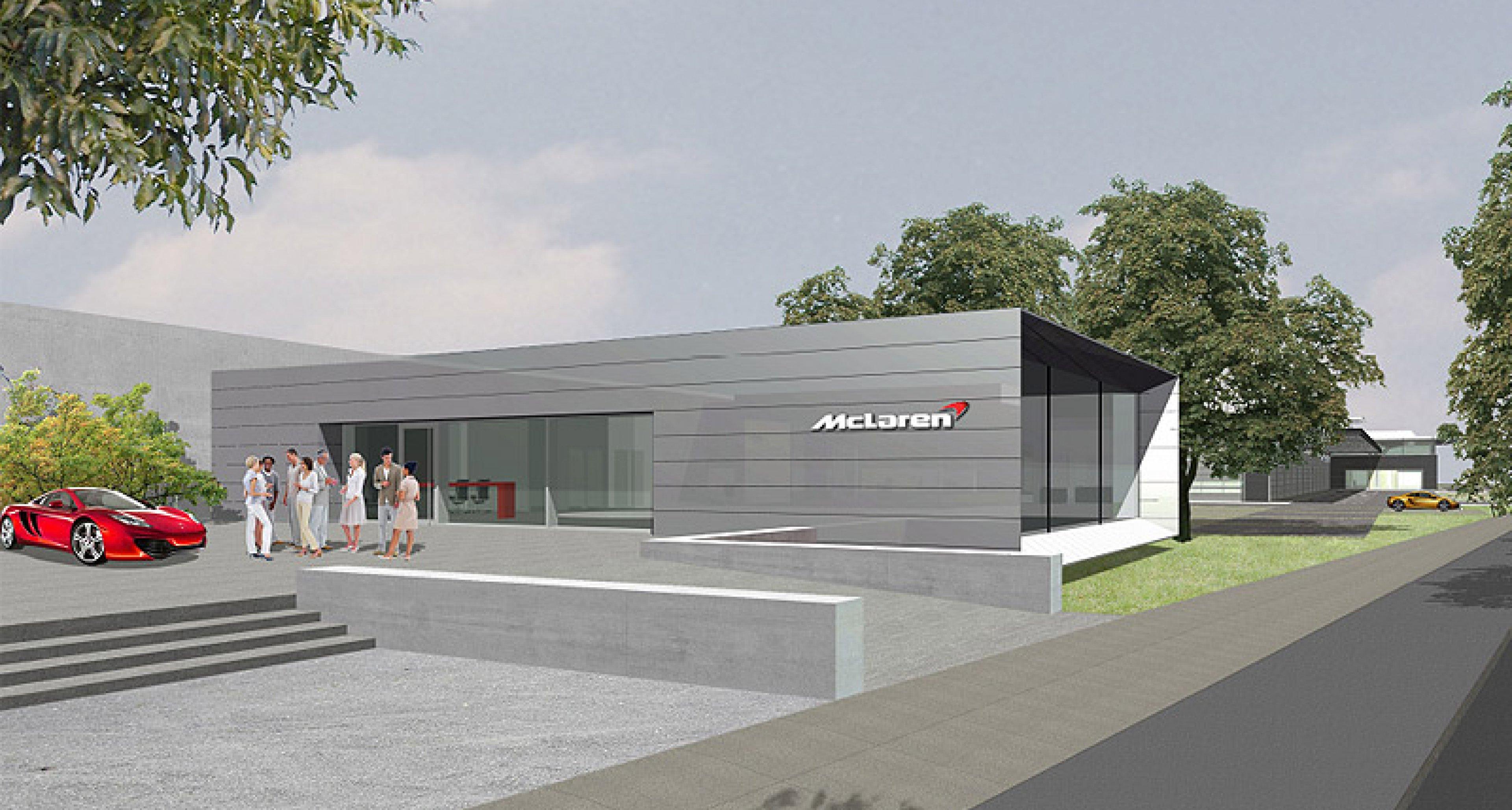 McLaren MP4-12C feiert Deutschlandpremiere
