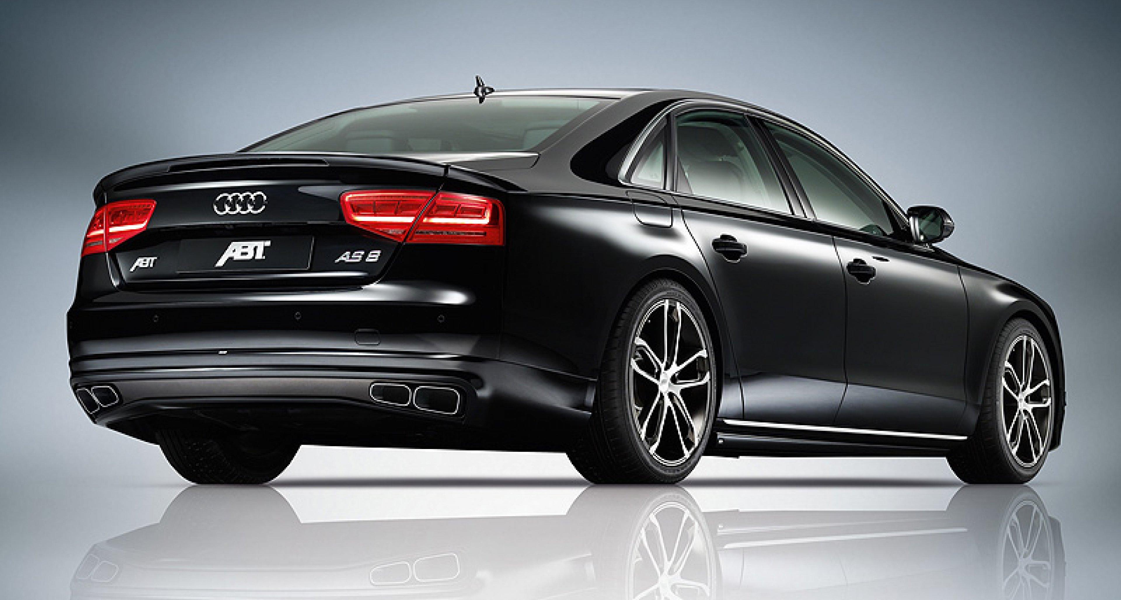 Audi A8 von Abt: Vornehmer Dampfhammer