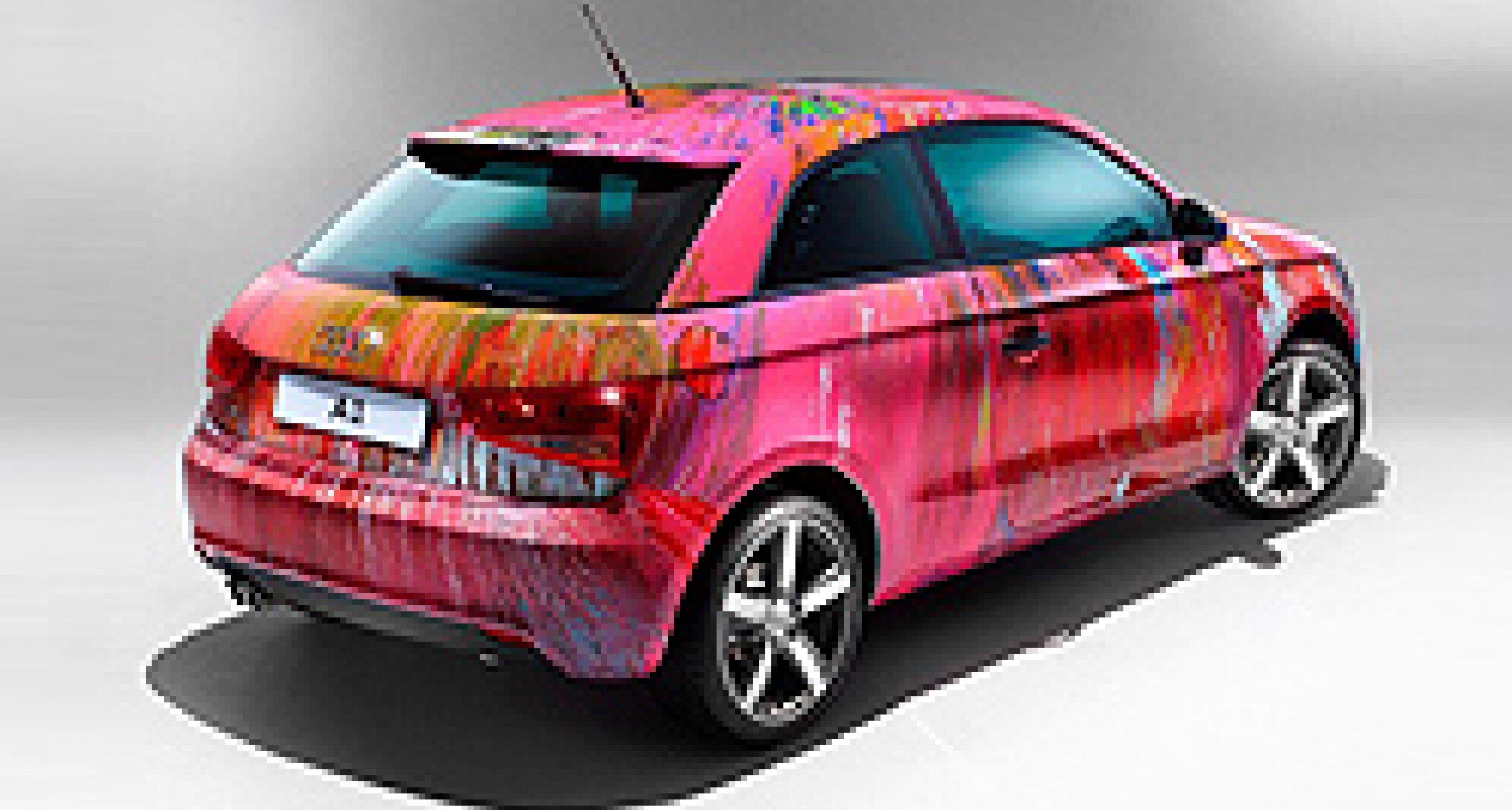 Audi A1 von Damien Hirst bringt 425.000 Euro