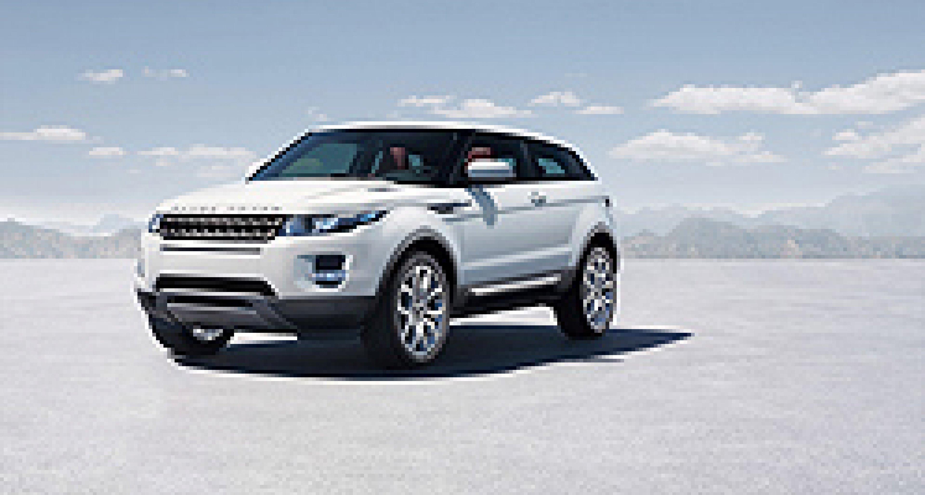 Range Rover Evoque in London enthüllt