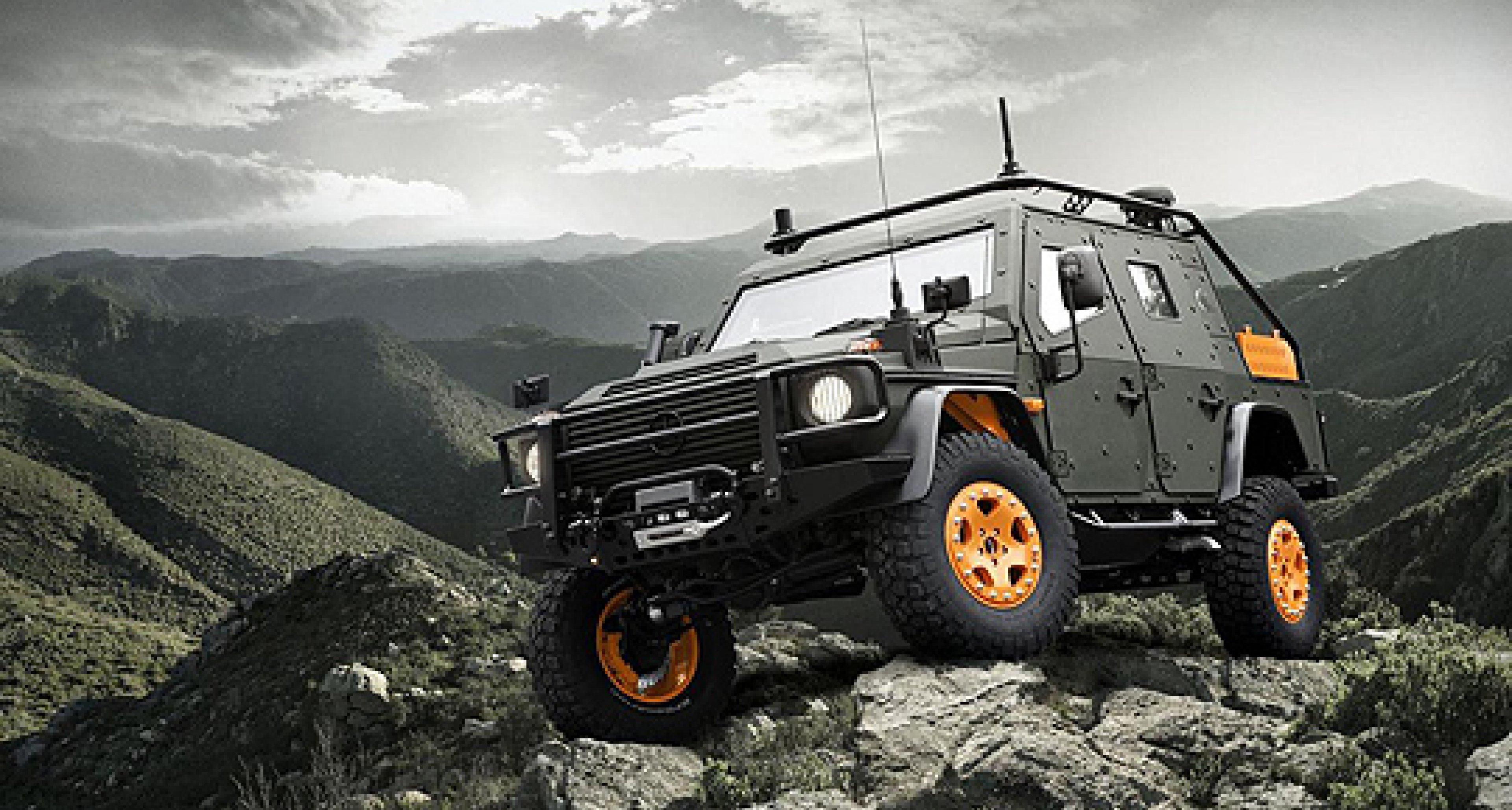 Mercedes-Benz G-Wagon LAPV 6.X Concept: Kunduz statt Kö