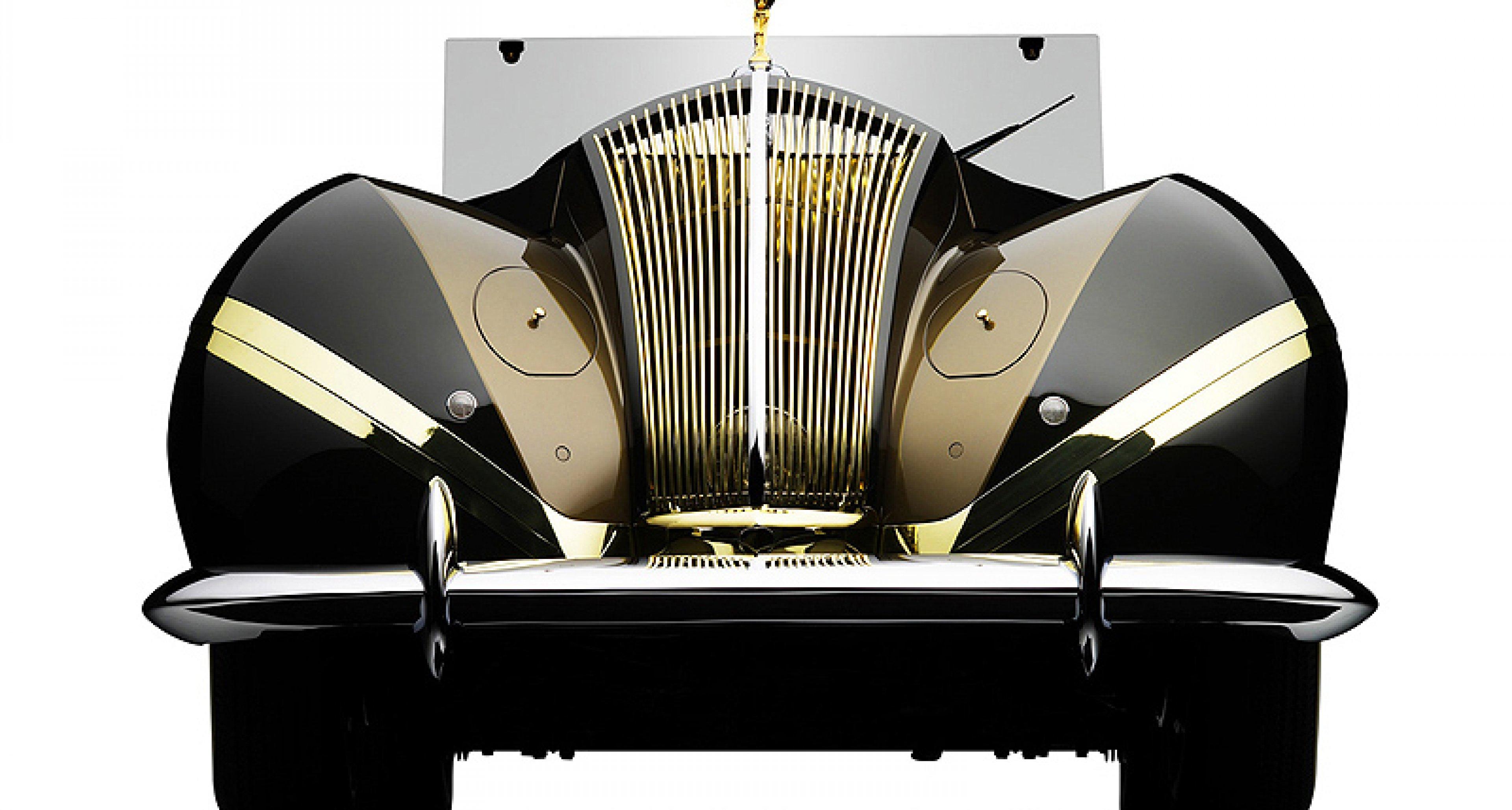 "Einzigartiger Rolls-Royce Phantom ""Vutotal"" beim Fairfield Concours 2010"