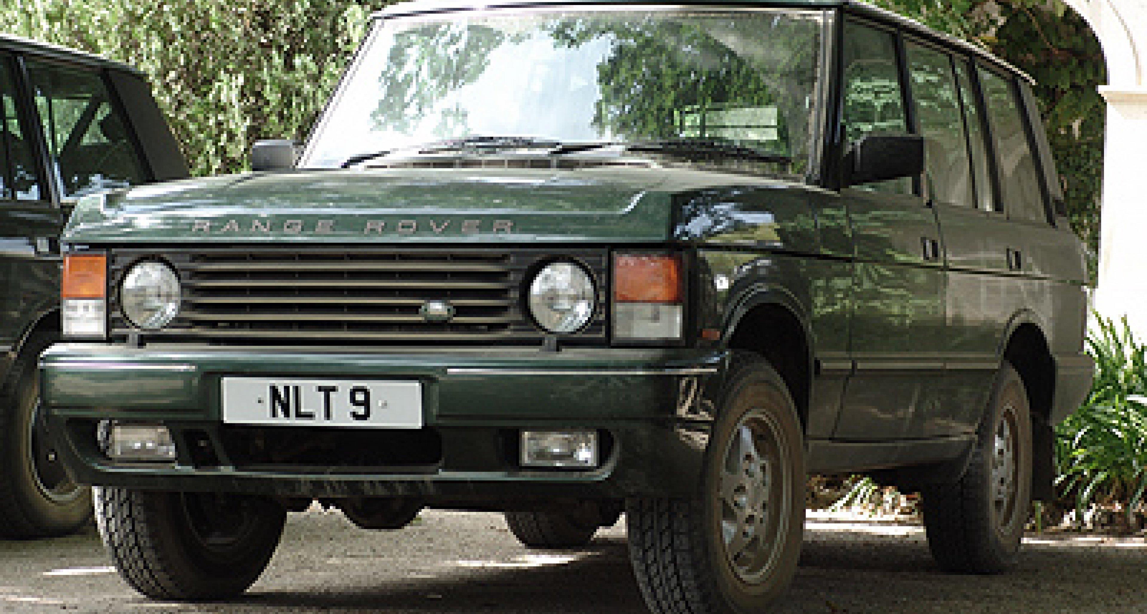 Range Rover Generationen