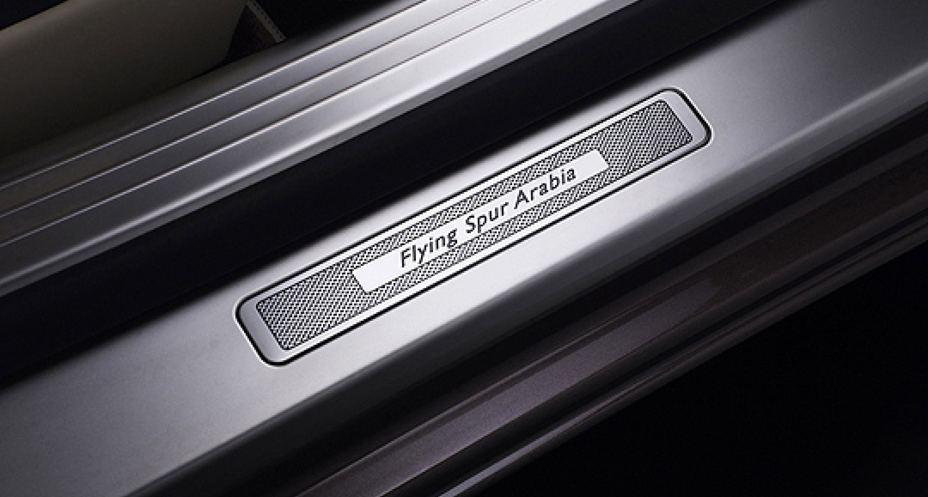 Bentley Continental Flying Spur Arabia: Go East